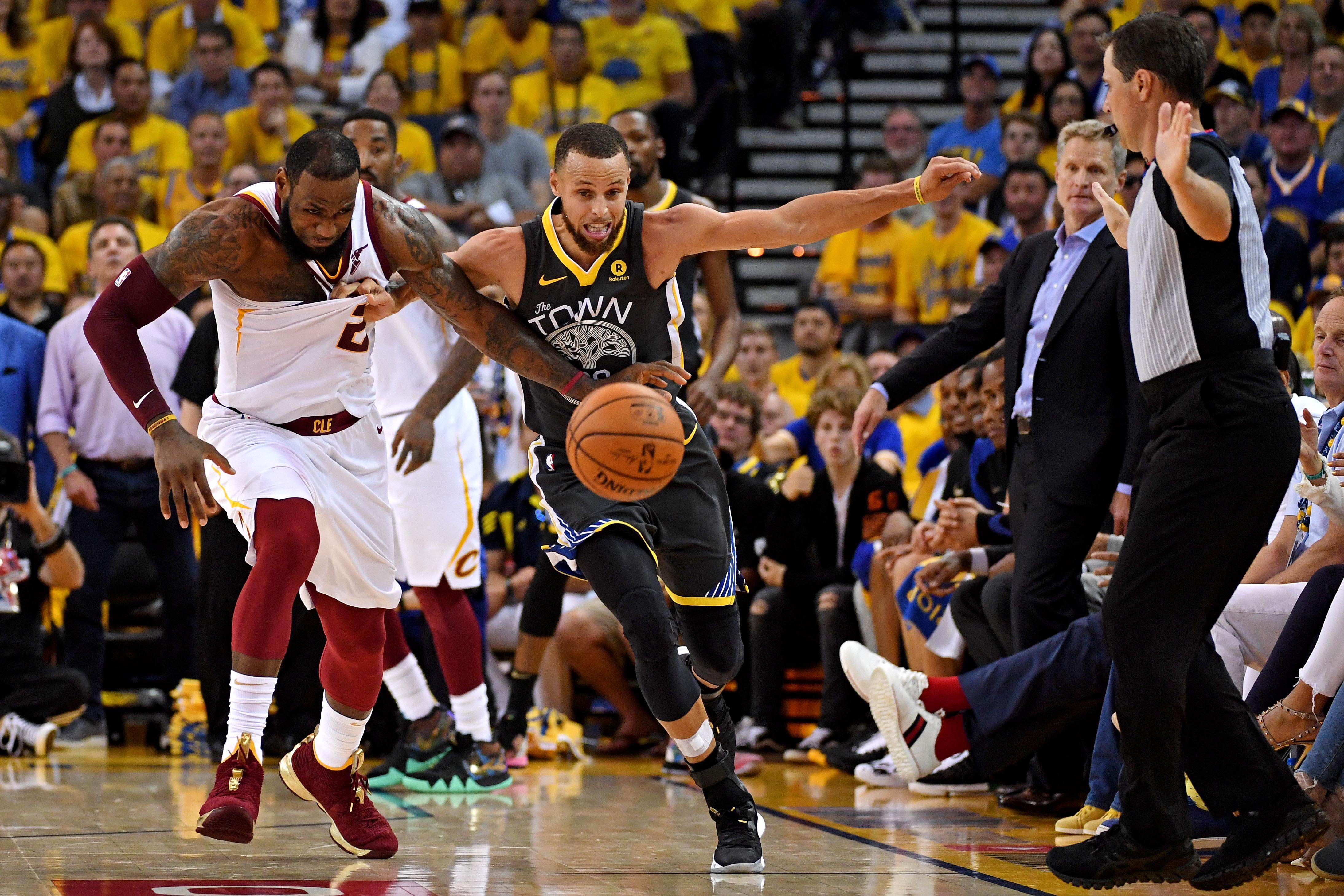 1577ffb4 NBA: Finals-Cleveland Cavaliers at Golden State Warriors