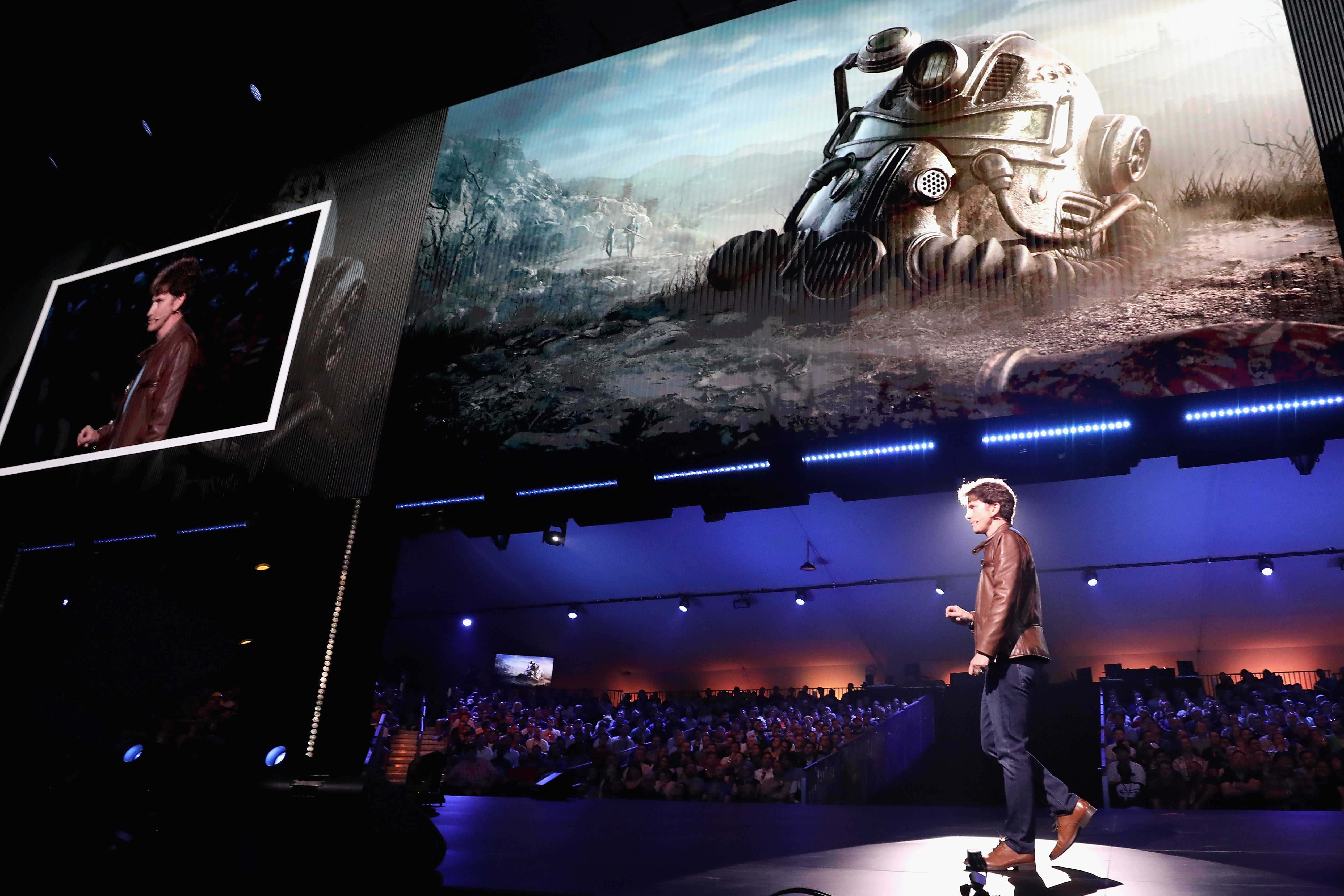 Video Game Maker Bethesda Announces New Products At E3 In Los Angeles