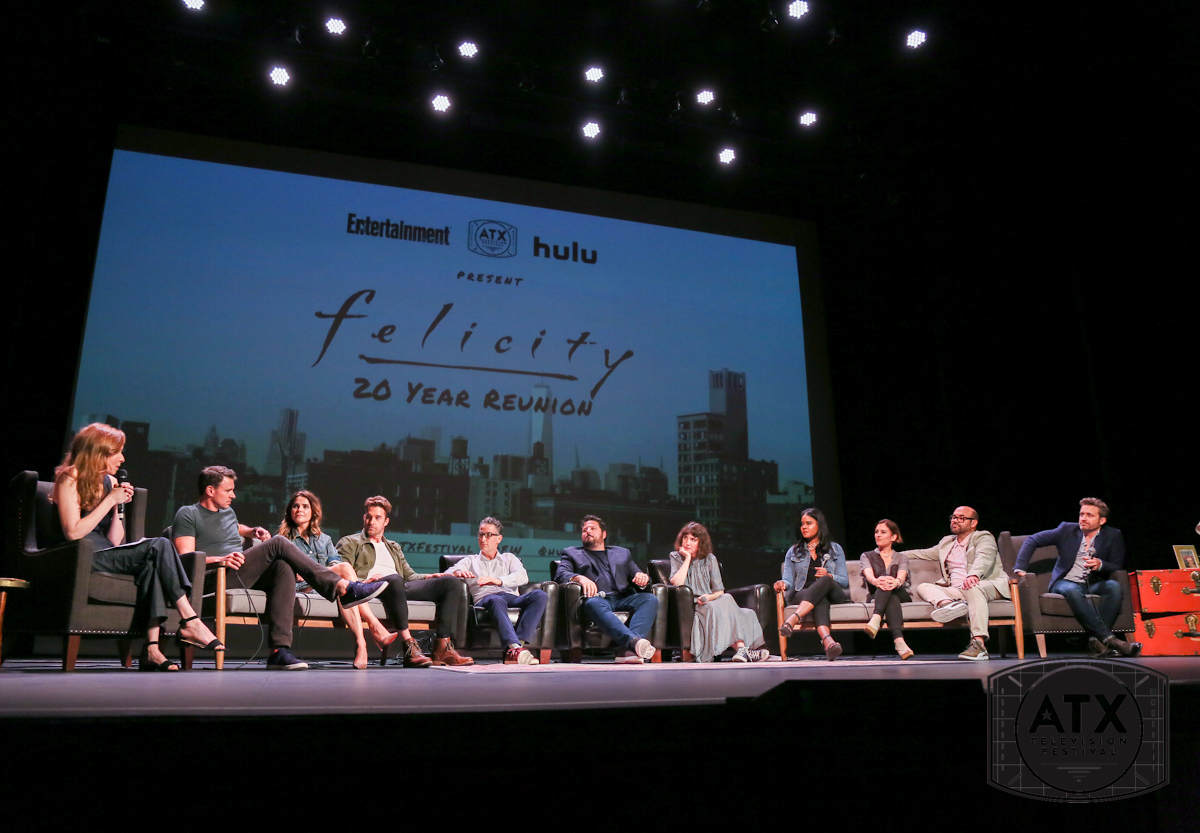 The cast of Felicity at the ATX Television Festival 2018