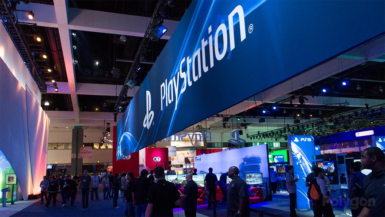 E3 2013 show floor PlayStation photo (Poly wm) 1280