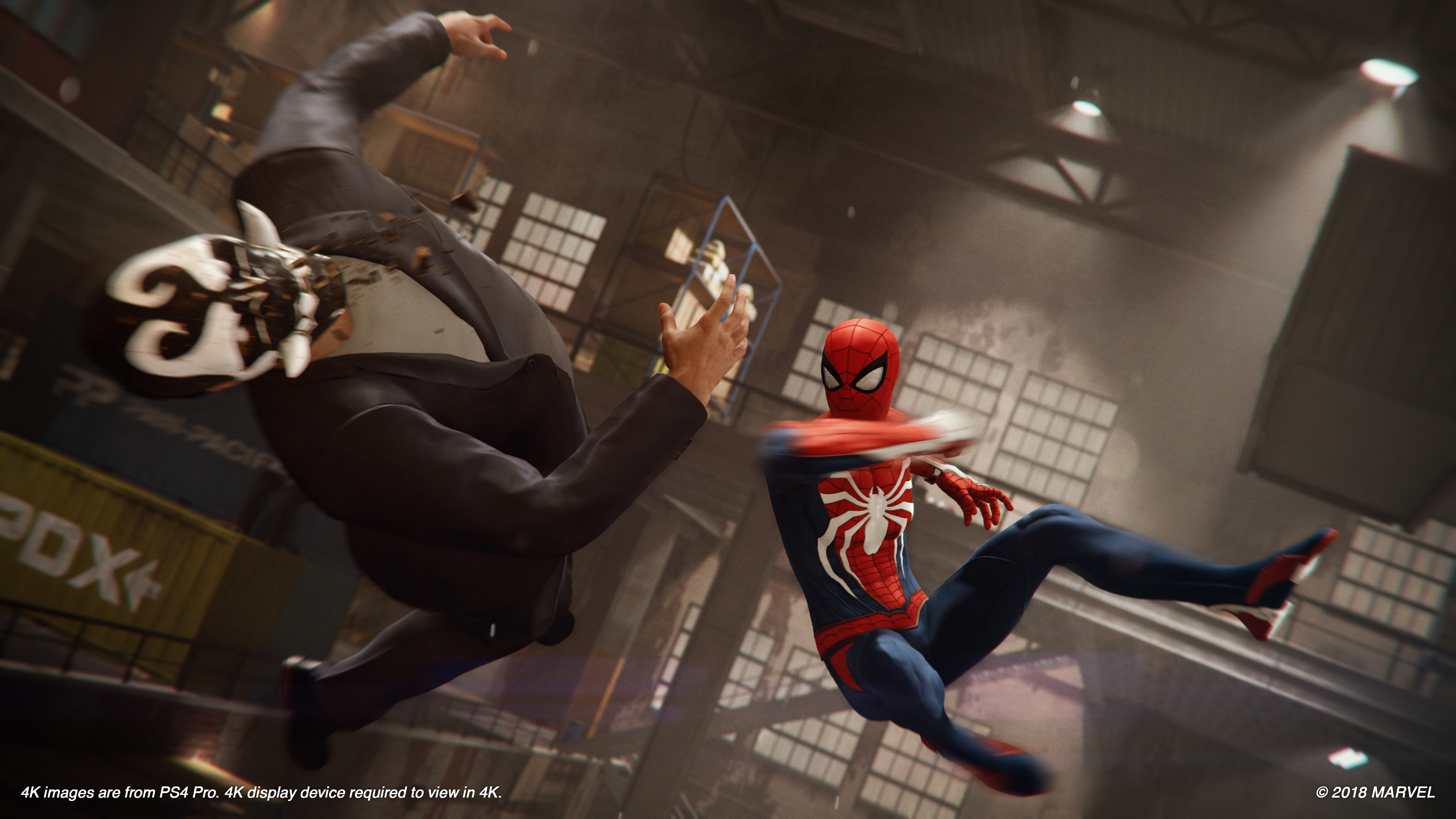 E3 Spider Man Ps4 Gameplay This Feels Like The Best Spidey Game