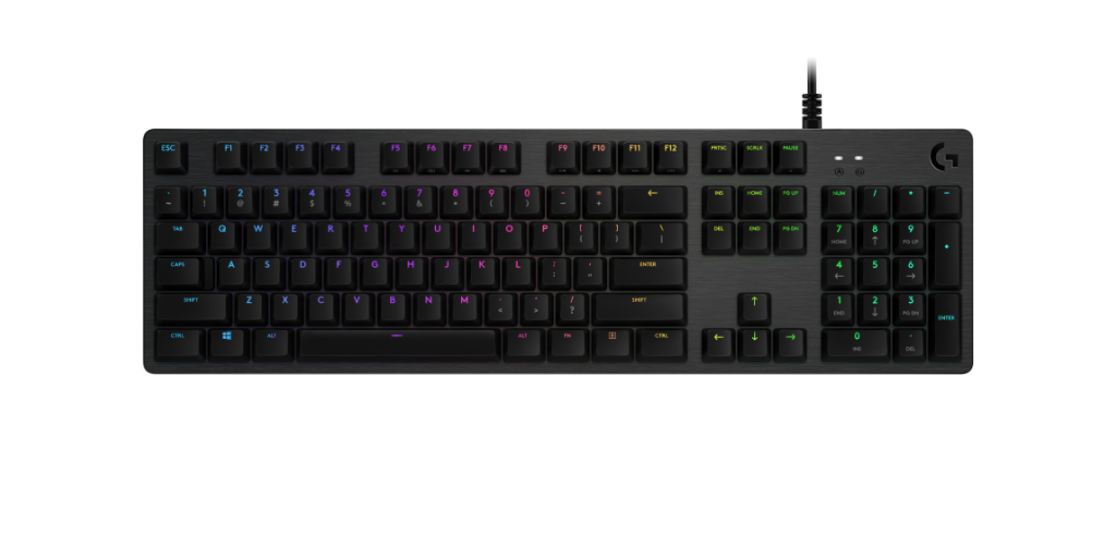 c416ec1c6a2 Logitech announces new GX Blue switch for its G512 gaming keyboard