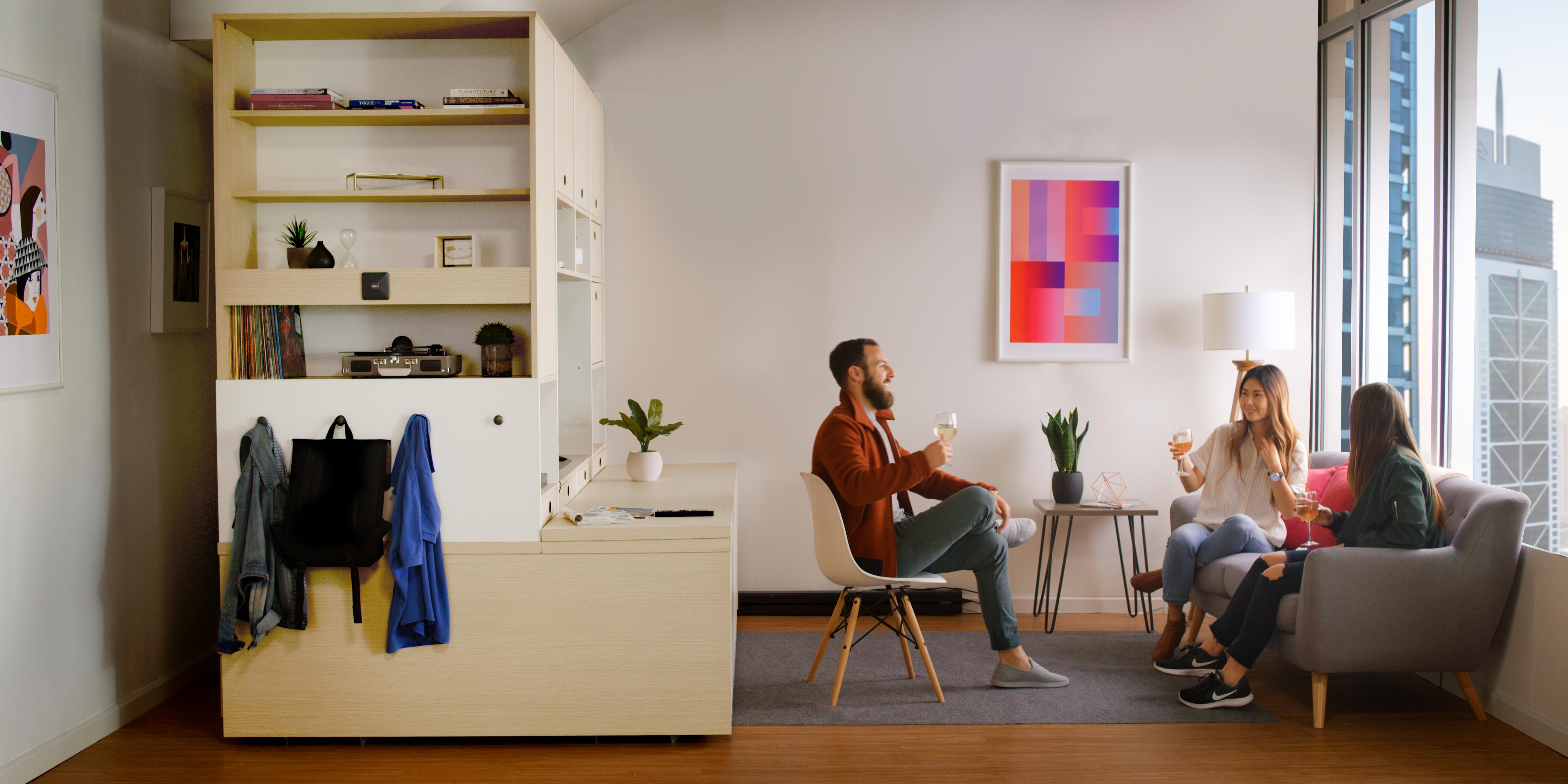 all-in-one furniture unit
