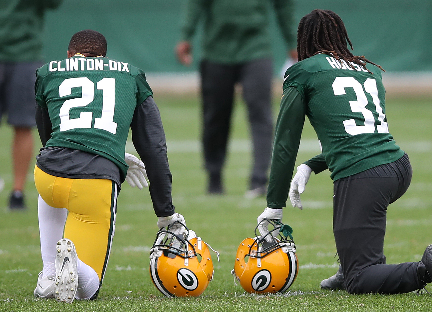 NFL: Green Bay Packers- Practice