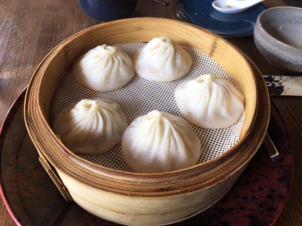 Soup dumplings from Wu Chow