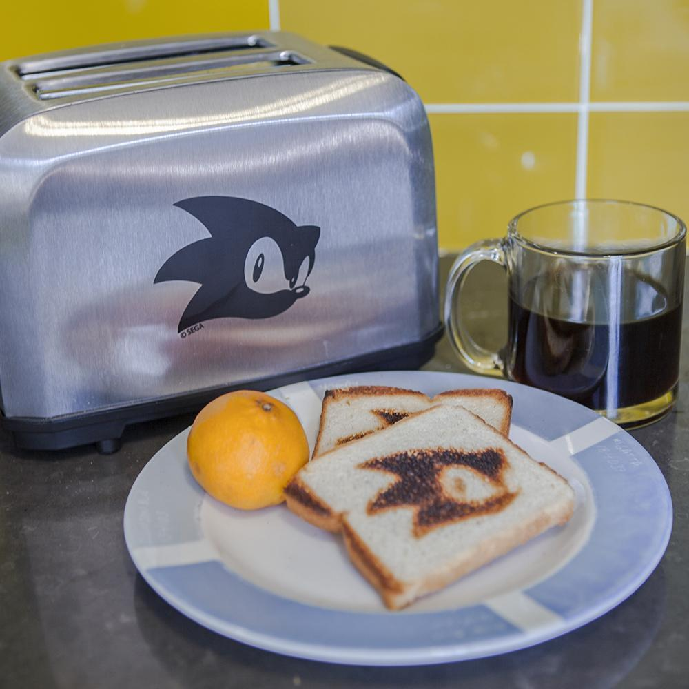 Sega is crowdfunding a Sonic the Hedgehog toaster