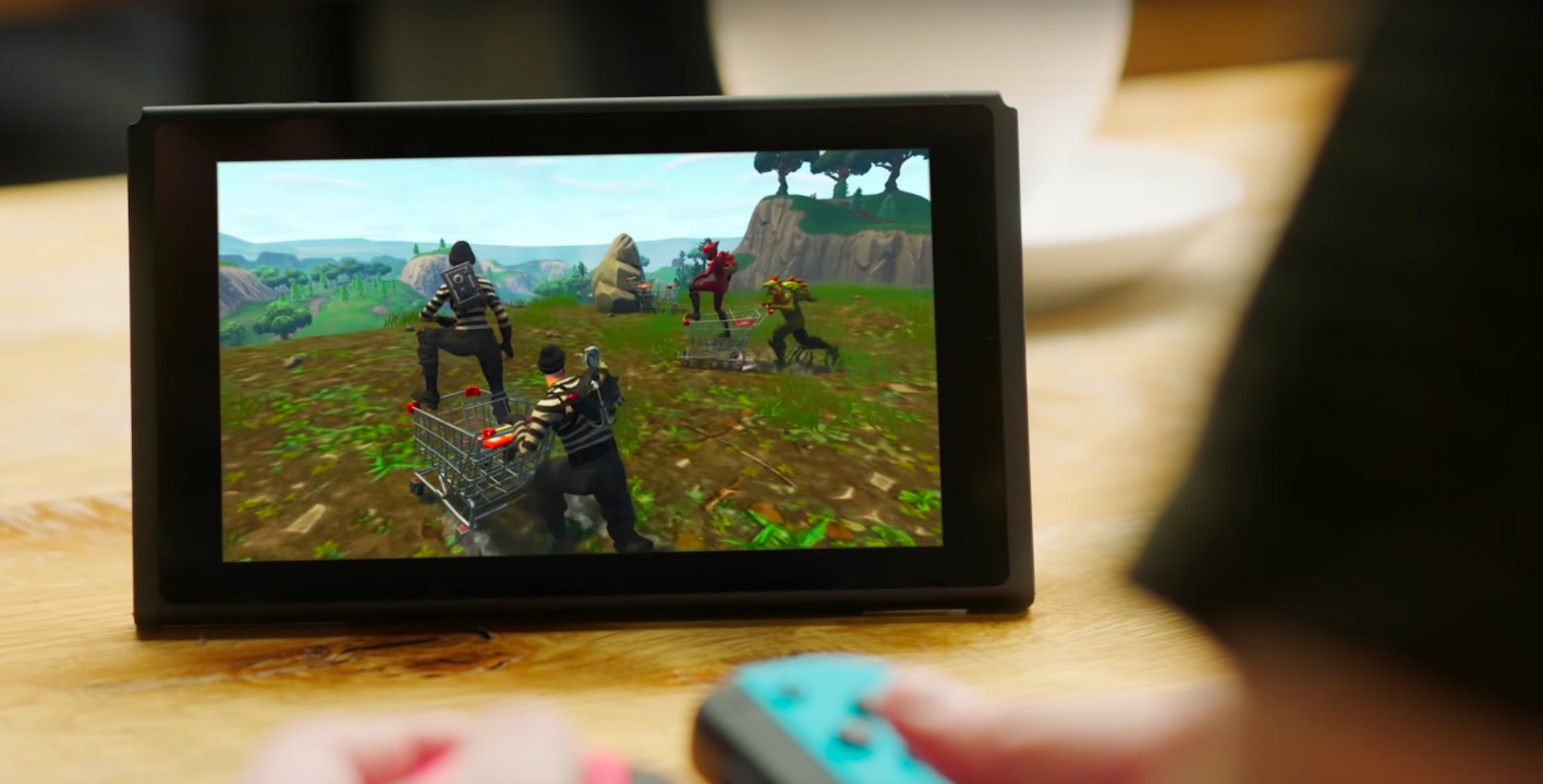 Fortnite on the Nintendo Switch is exactly what you'd expect