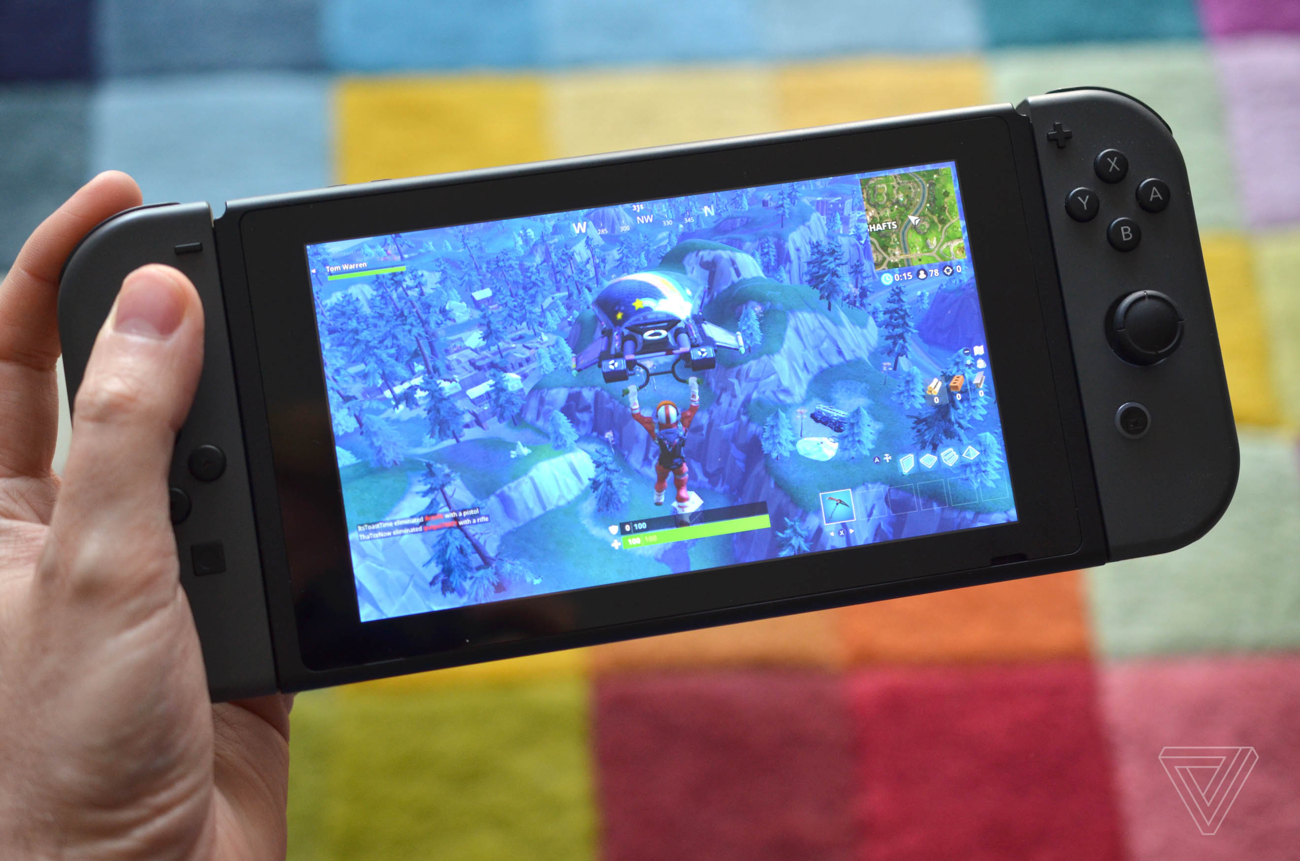 Fortnite On The Switch Makes Sony S Cross Play Policy Look Even More - fortnite on the switch makes sony s cross play policy look even more stupid the verge