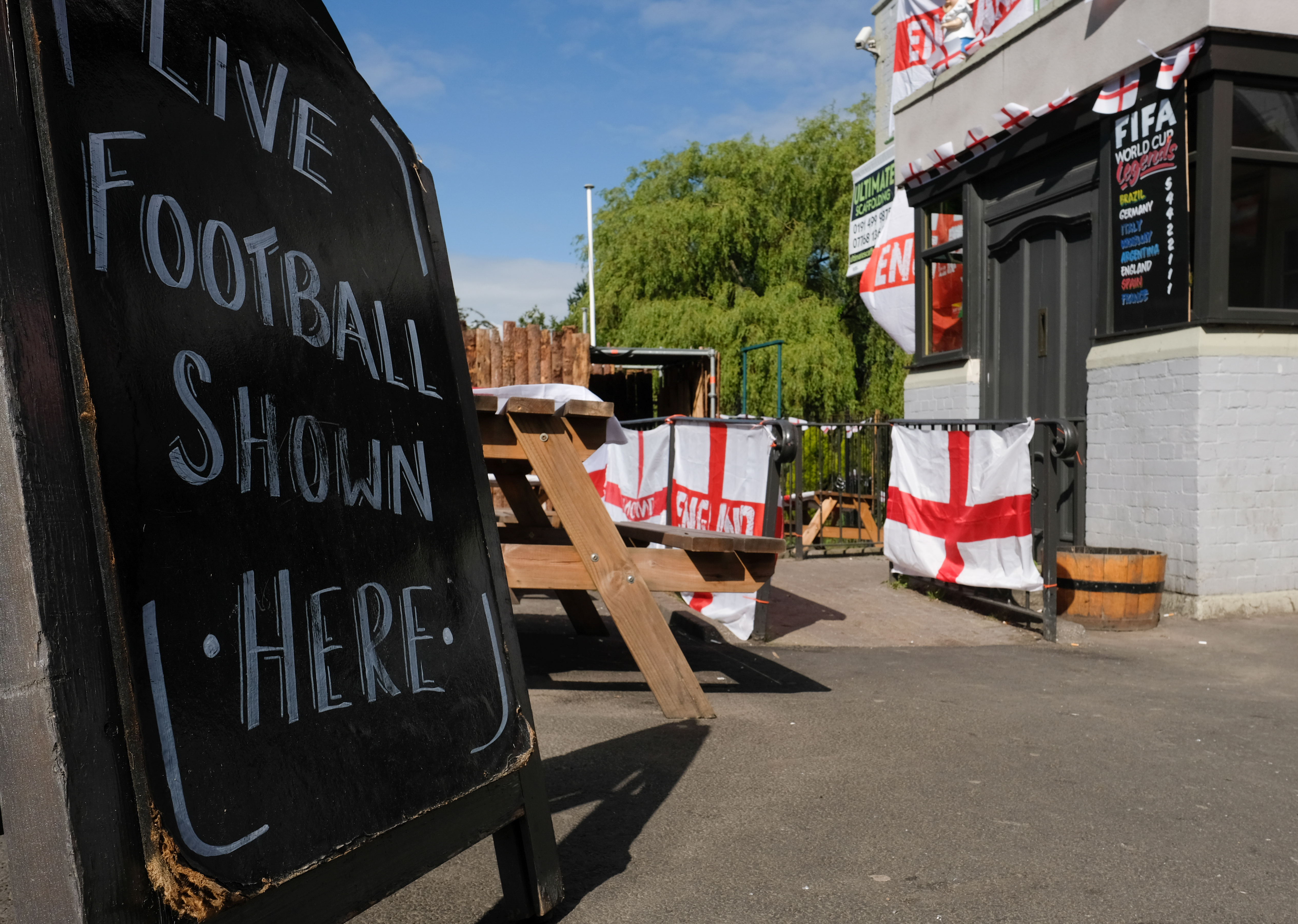 UK Prepares For FIFA World Cup Tournament