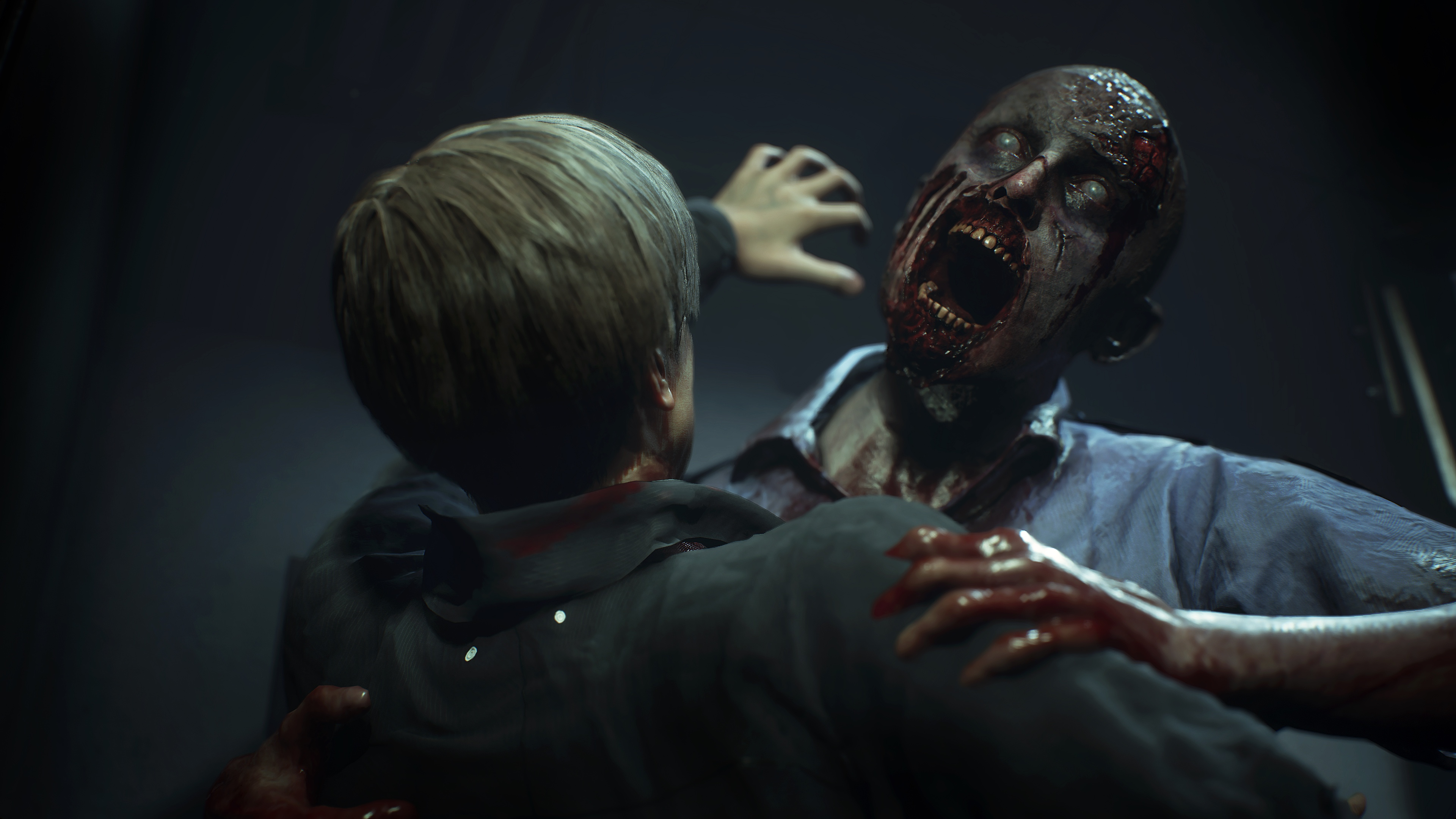 Watch 12 minutes of Resident Evil 2's remake in action at E3