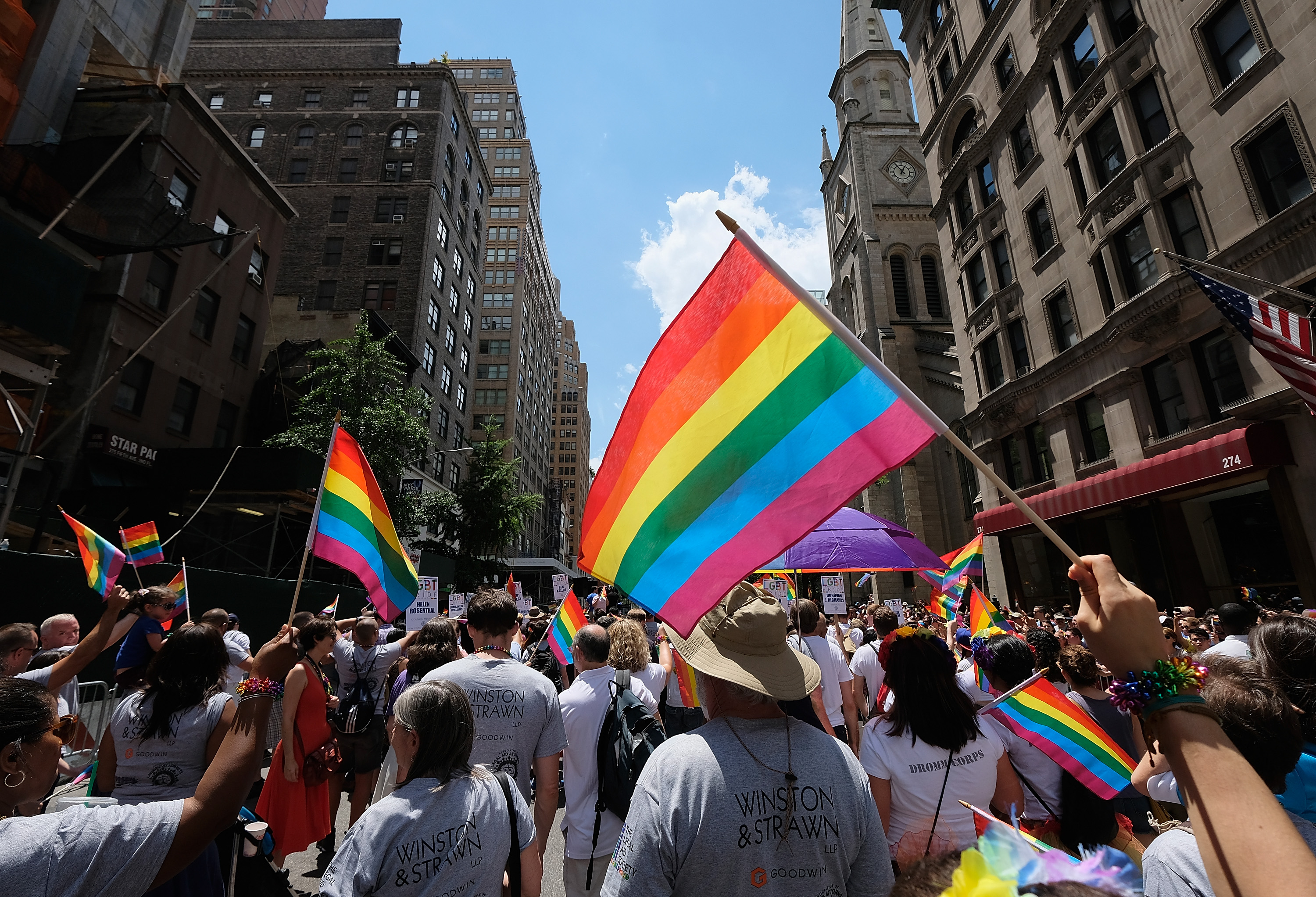 2017 Gay Pride March In New York City