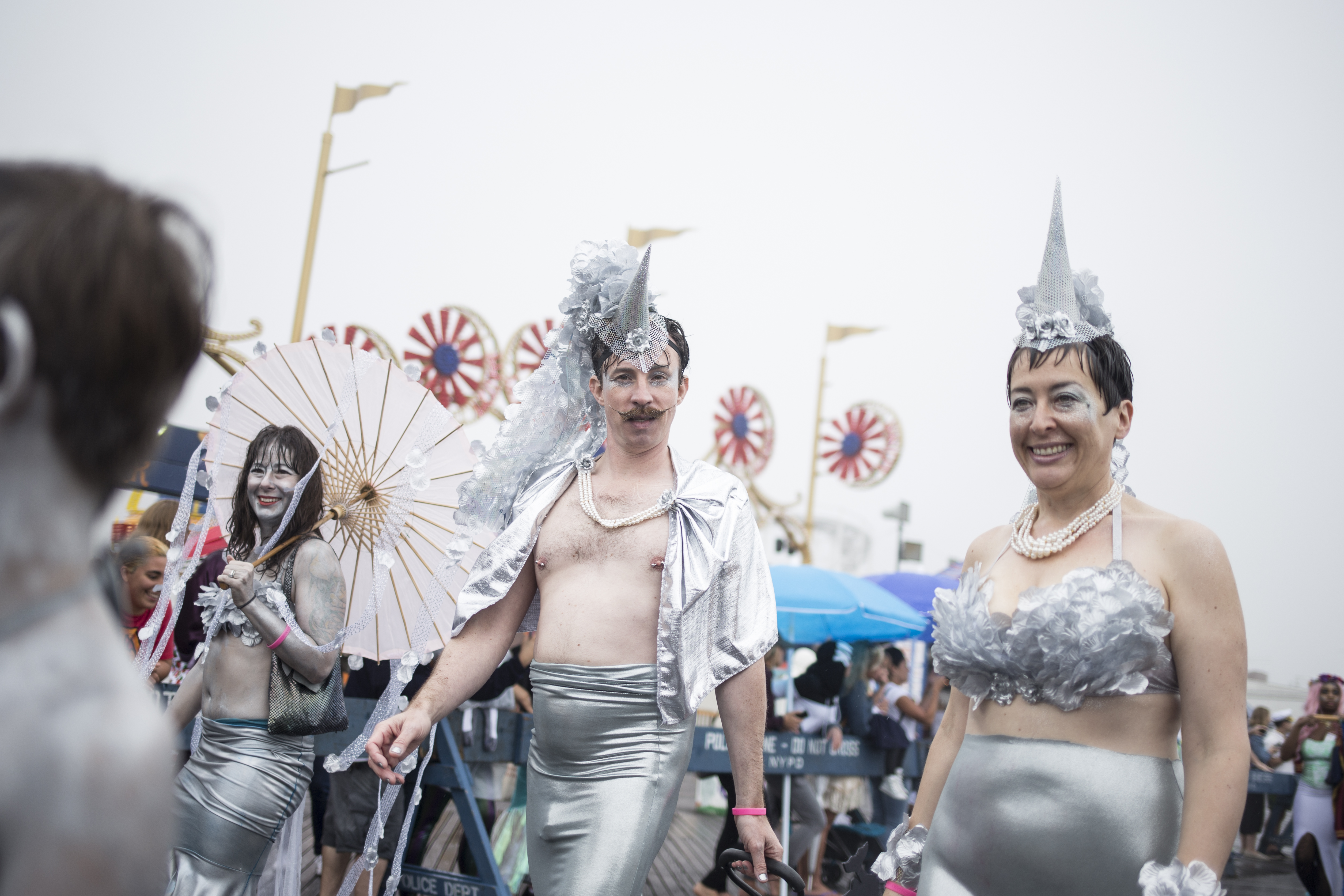 Fins And Skin On Display At Coney Island's Annual Mermaid Parade
