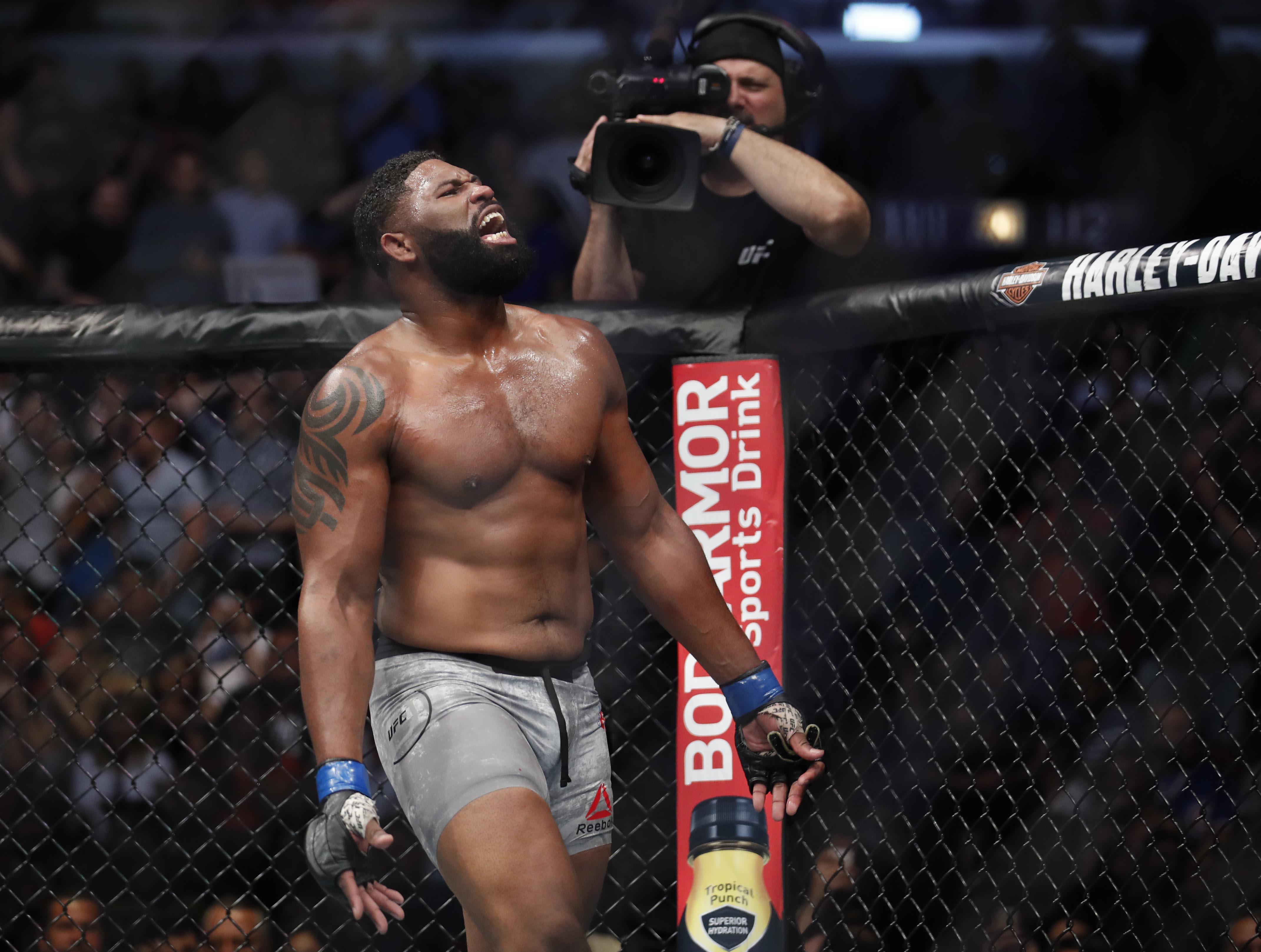MMA: UFC 225-Overeem vs Blaydes