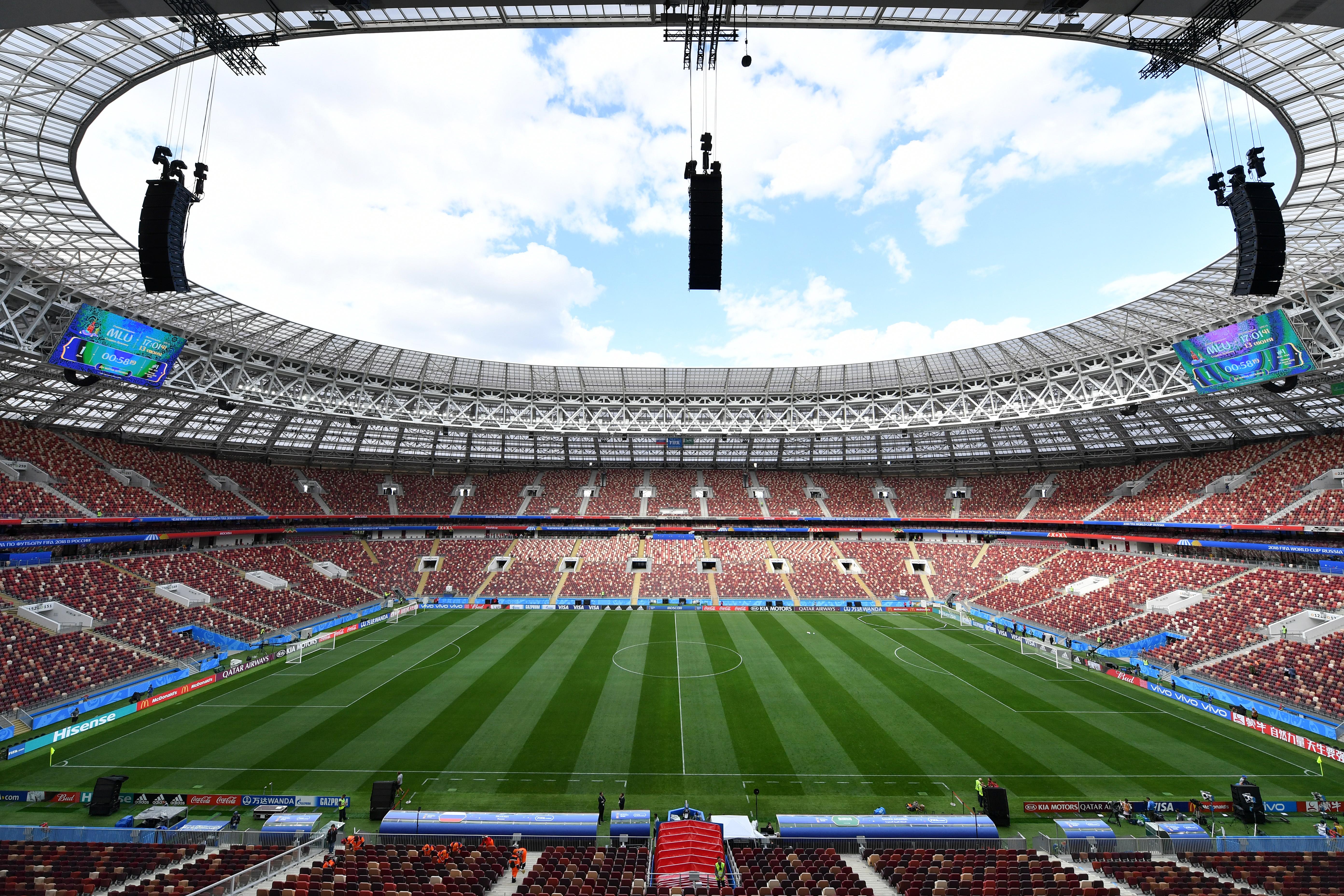 Saudi Arabia Training Session - 2018 FIFA World Cup Russia