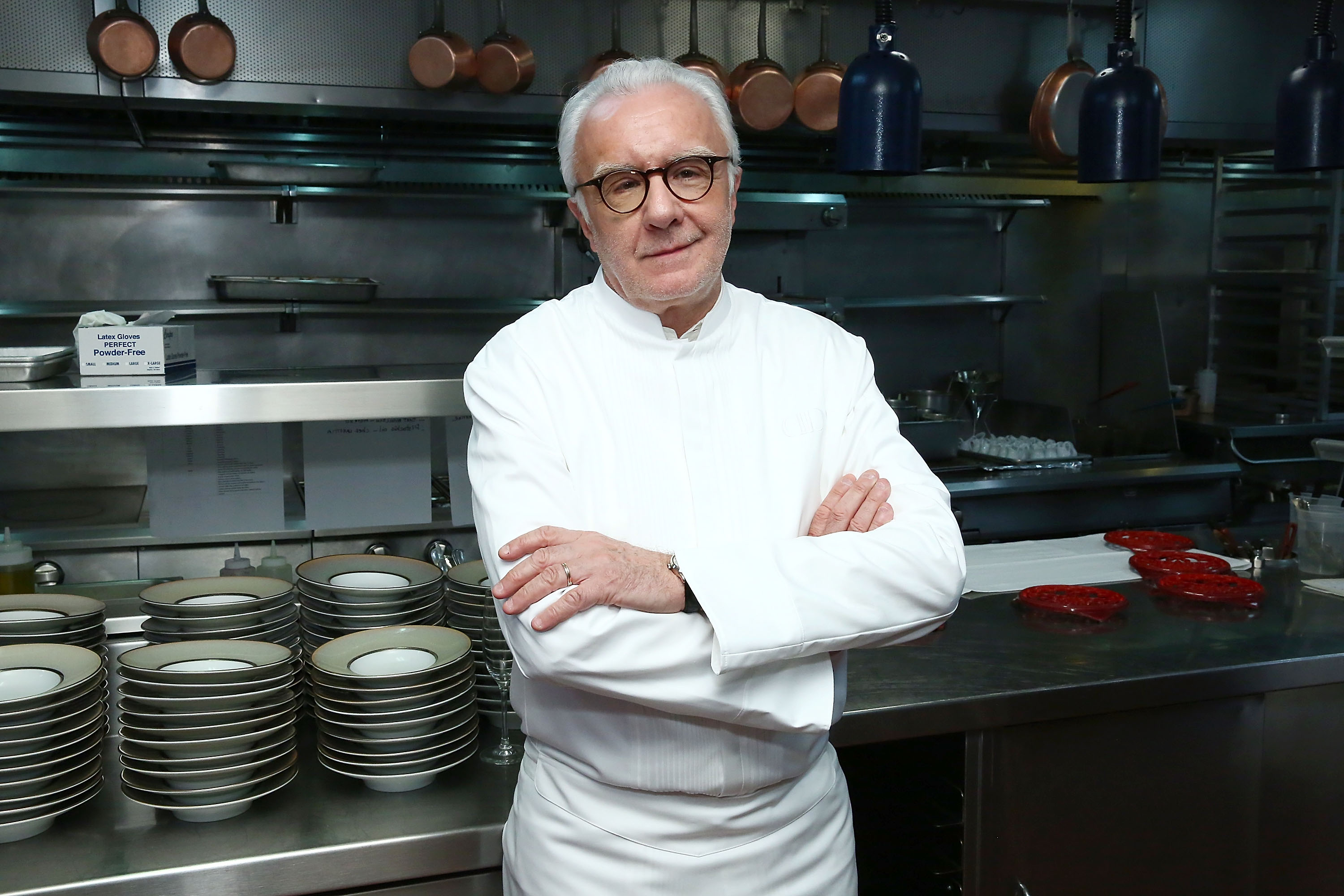 Food Network & Cooking Channel New York City Wine & Food Festival Presented By Coca-Cola - Alain Ducasse Hosts A Celebration of Women in the Kitchen part of the Bank of America Dinner Series presented by The Wall Street Journal
