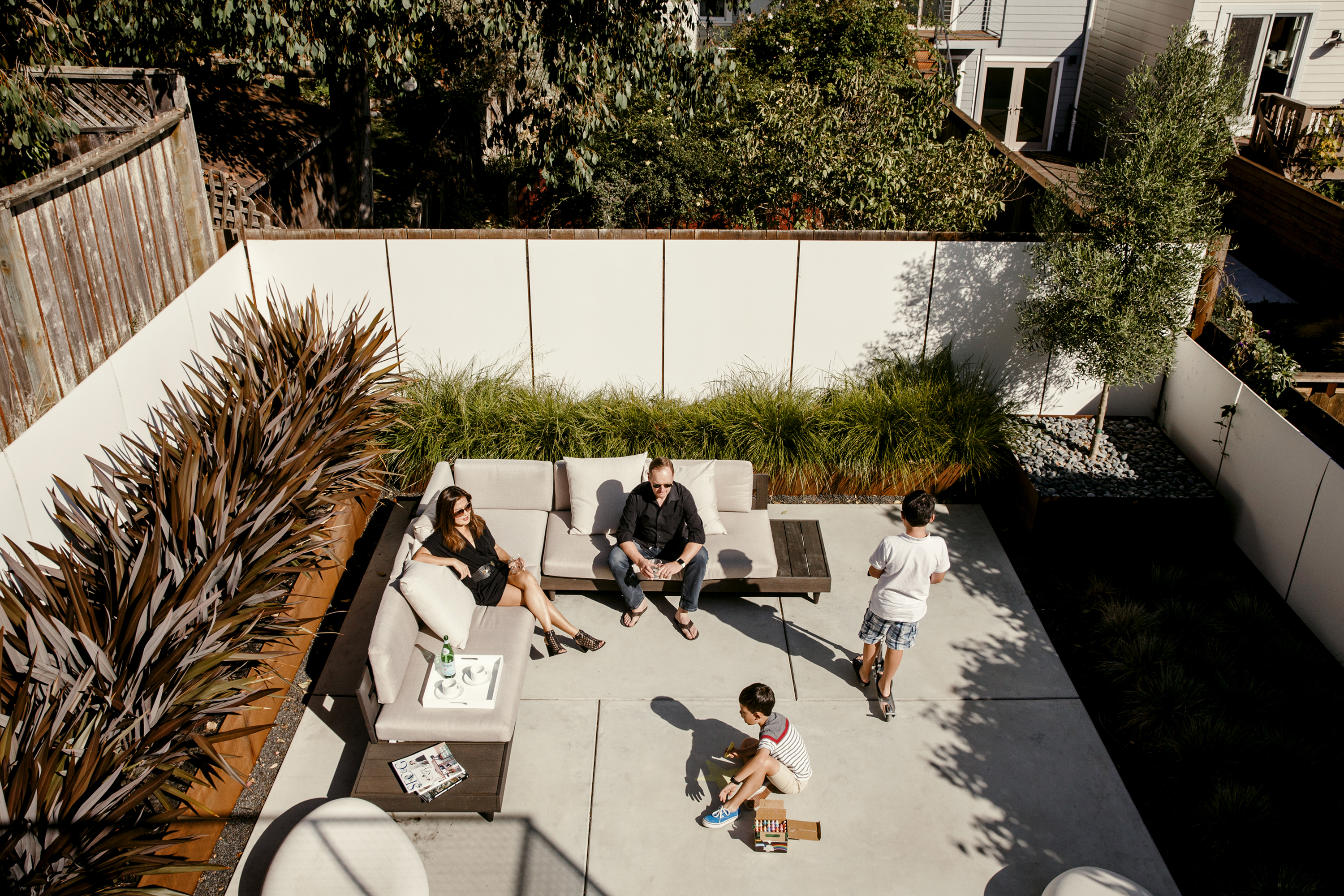 How to design an outdoor room