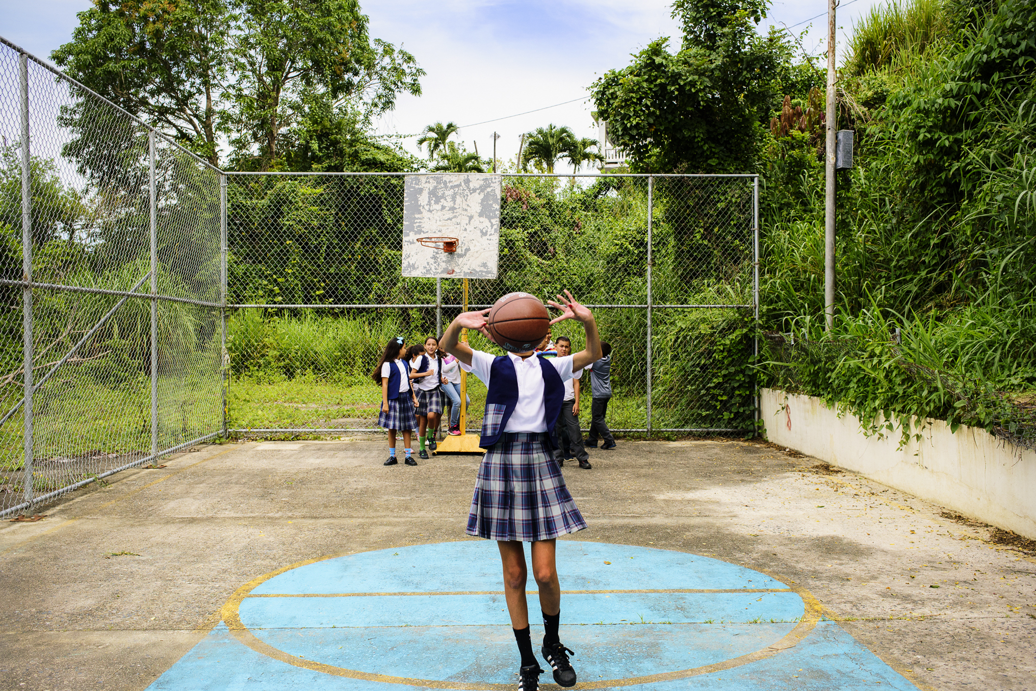 About a quarter of Puerto Rico's schools are shutting down. Here's a look inside one.
