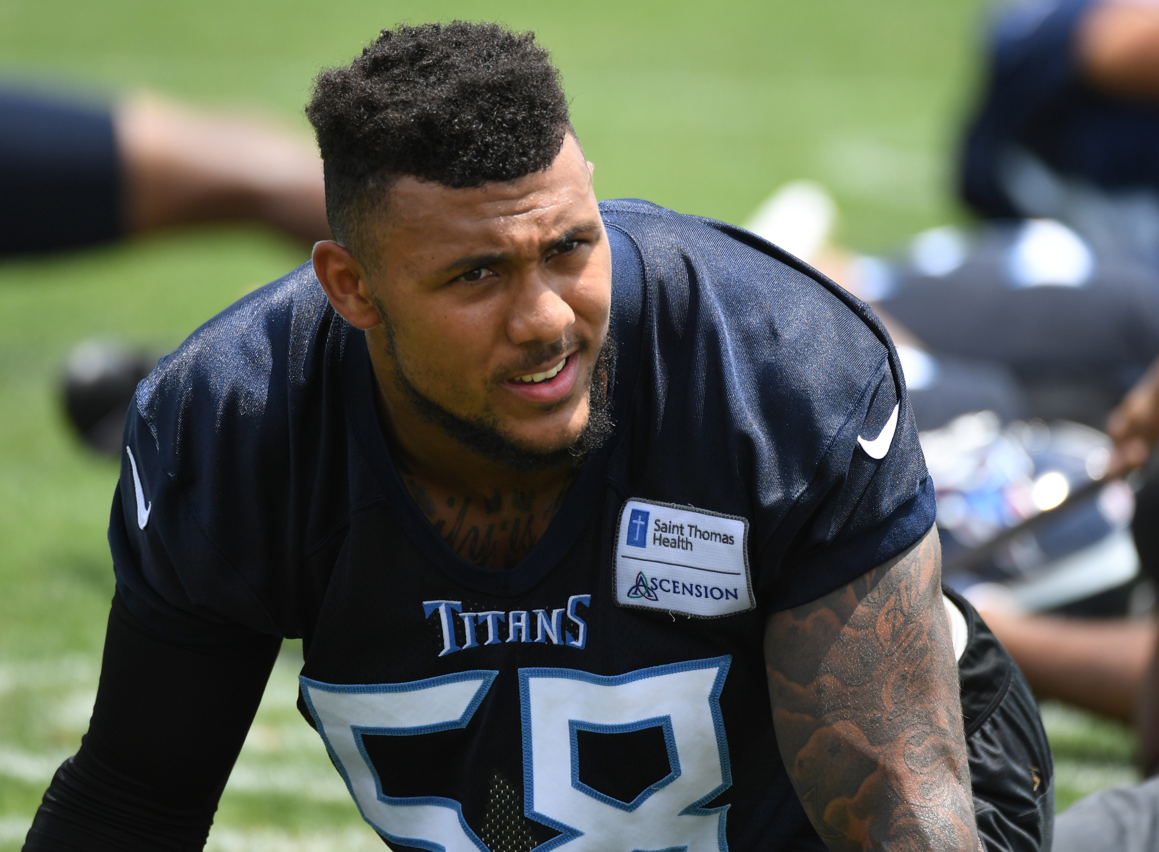 Titans Sign 2Nd Round Pick Harold Landry To Rookie Contract