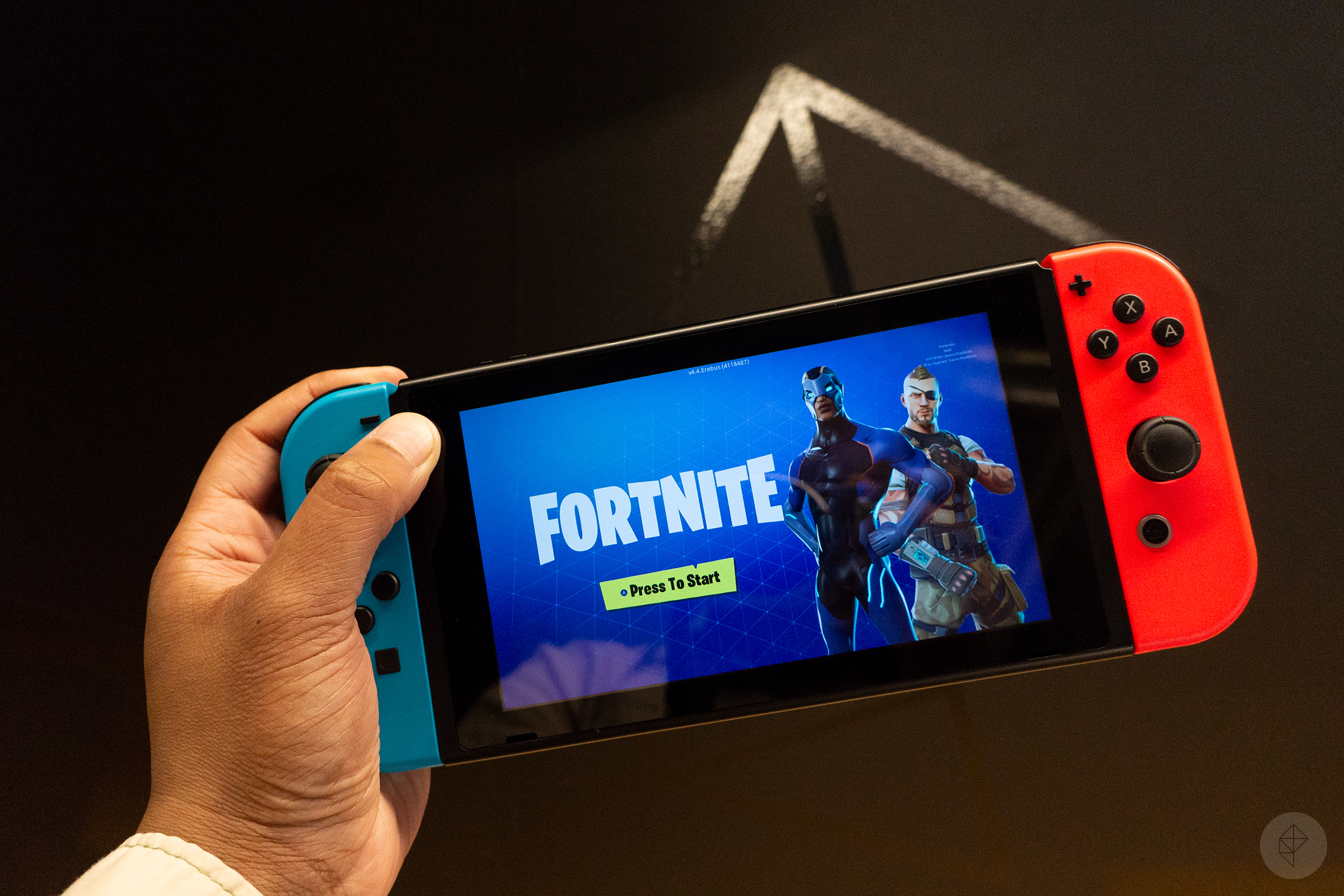 how does fortnite hold up on the switch graphically let s find out polygon - fortnite change resolution ps4