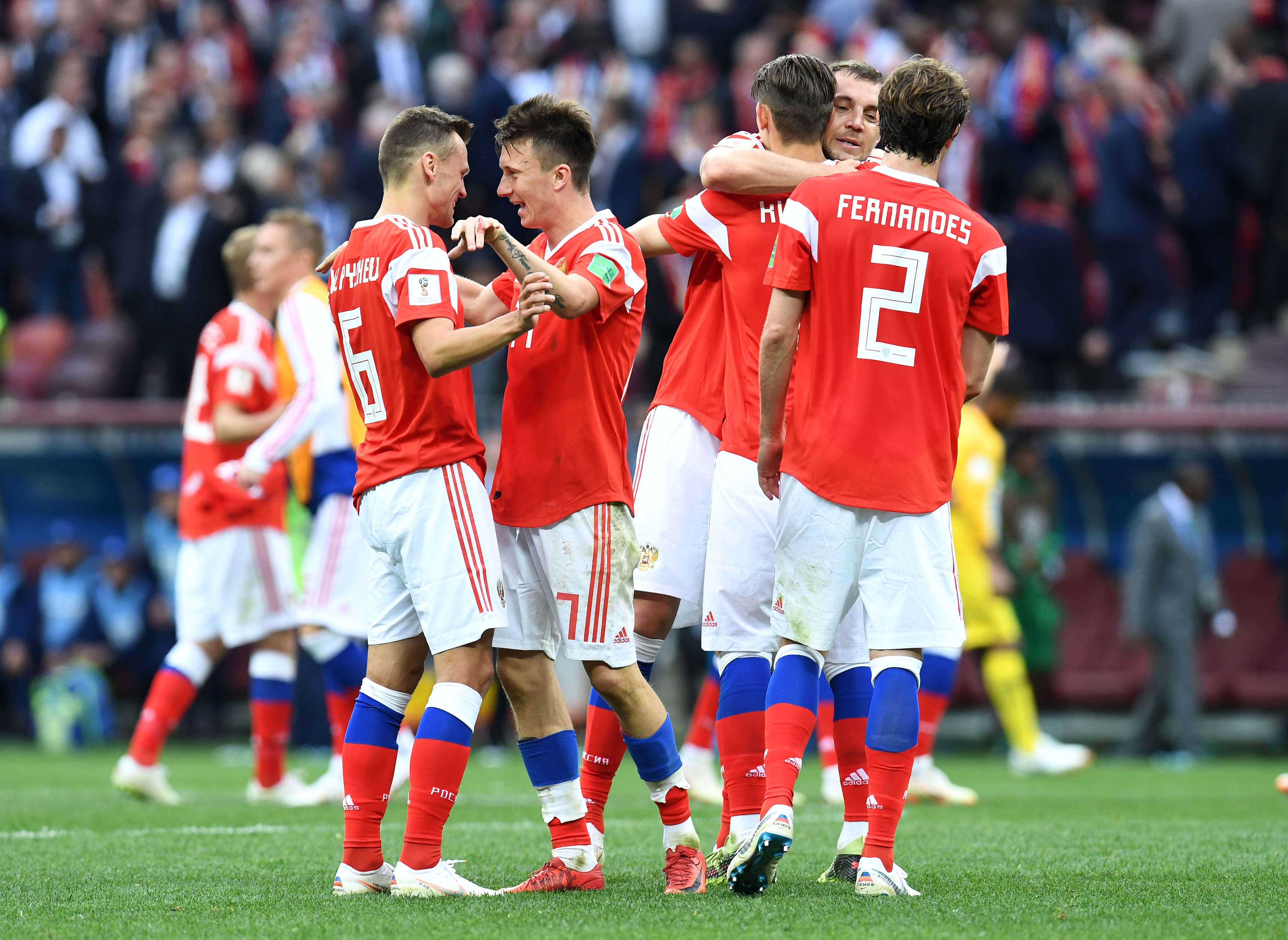 Soccer: World Cup-Russia vs Saudi Arabia