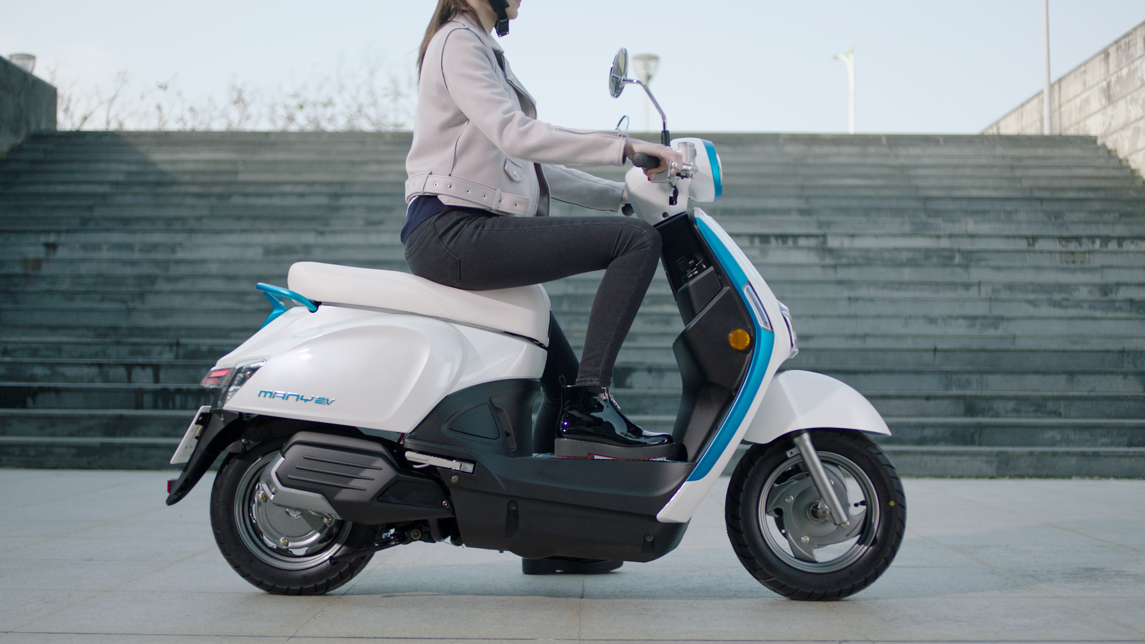 Kymco's new electric scooters could be the sign of a coming