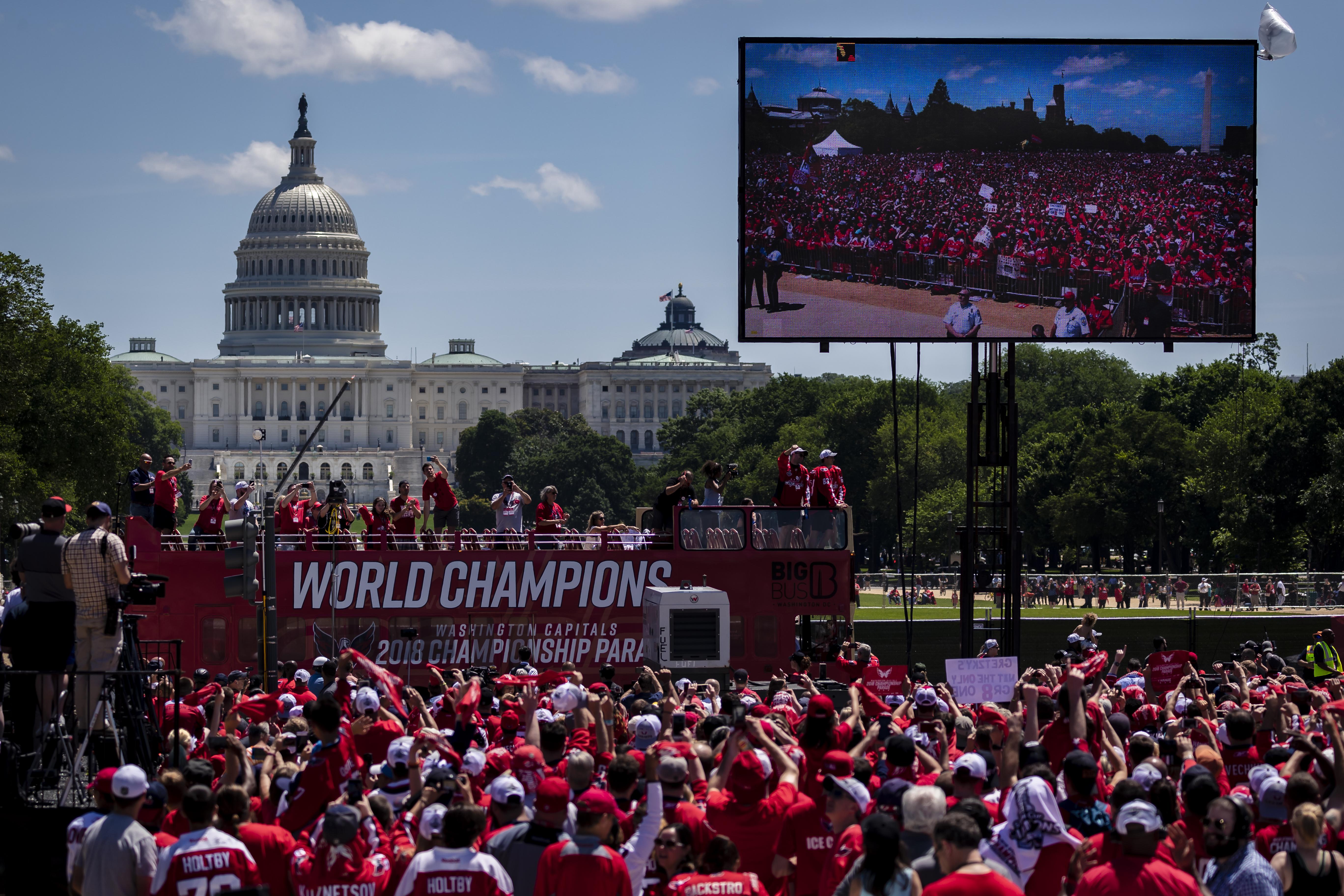 Washington Capitals Victory Parade And Rally