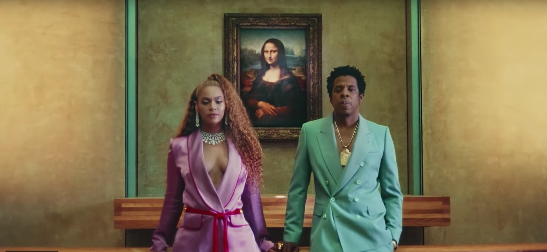 """Beyonce and Jay-Z from the video """"Apeshit"""""""
