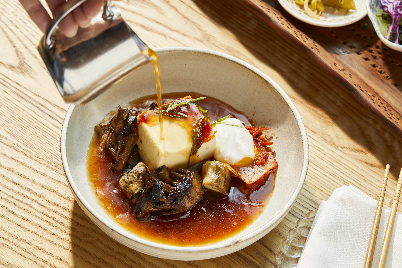 The tofu stew at Pitchfork Pretty