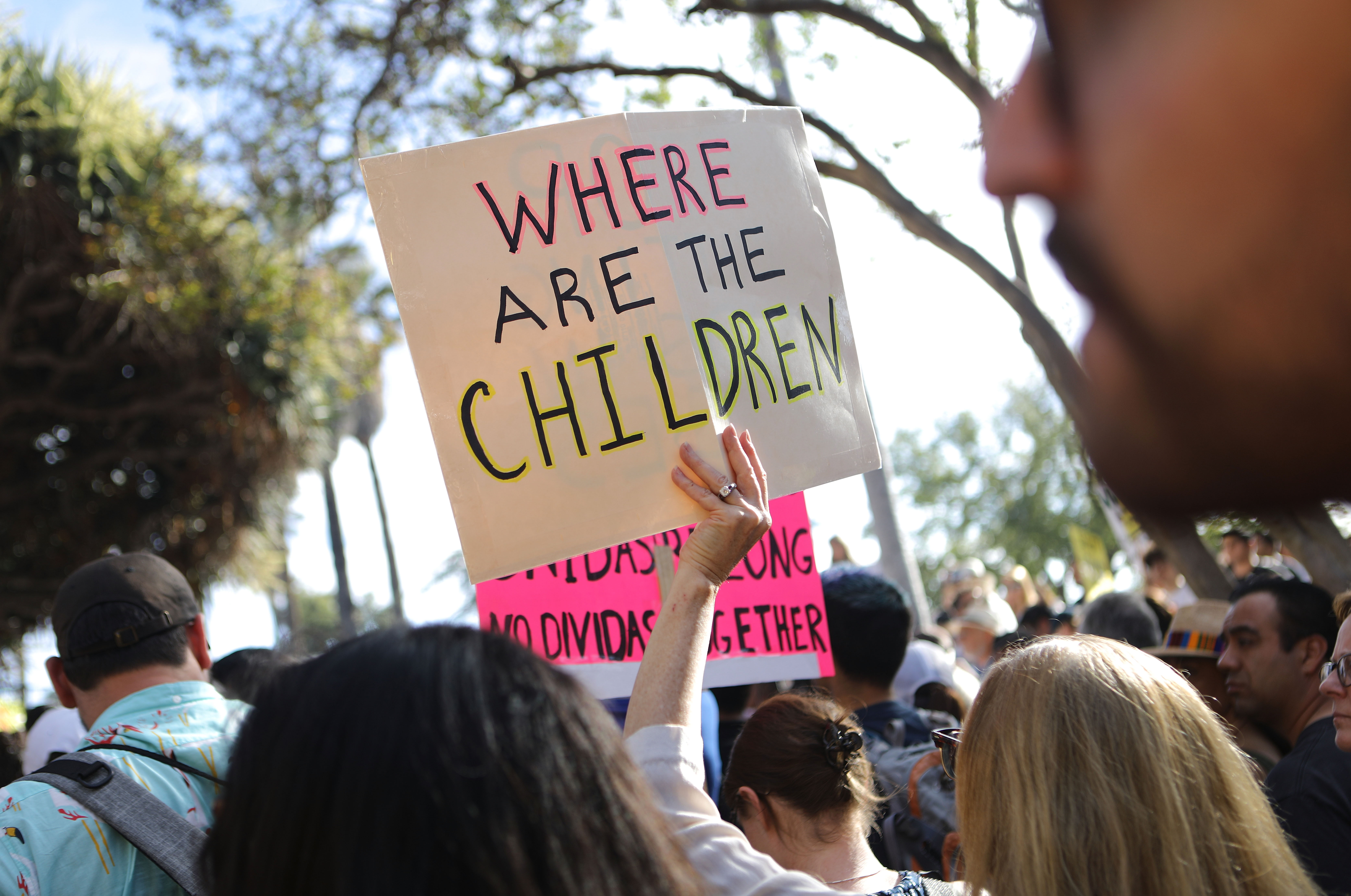 Families Belong Together protest underway in more than 700 cities