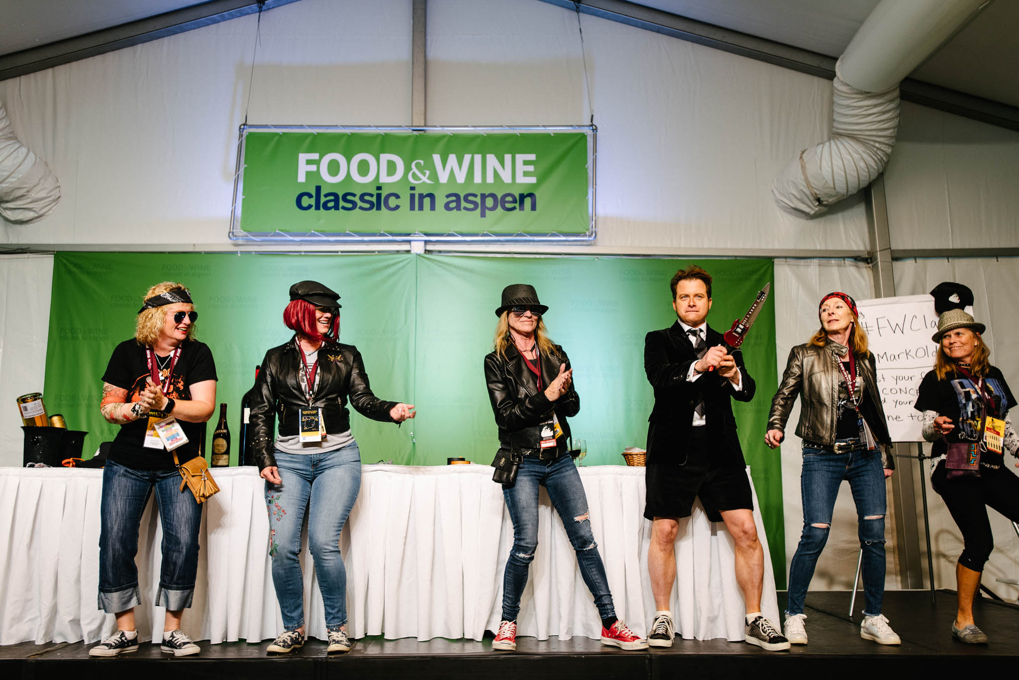 The Restaurant Industry Reckons With #Metoo At Food & Wine