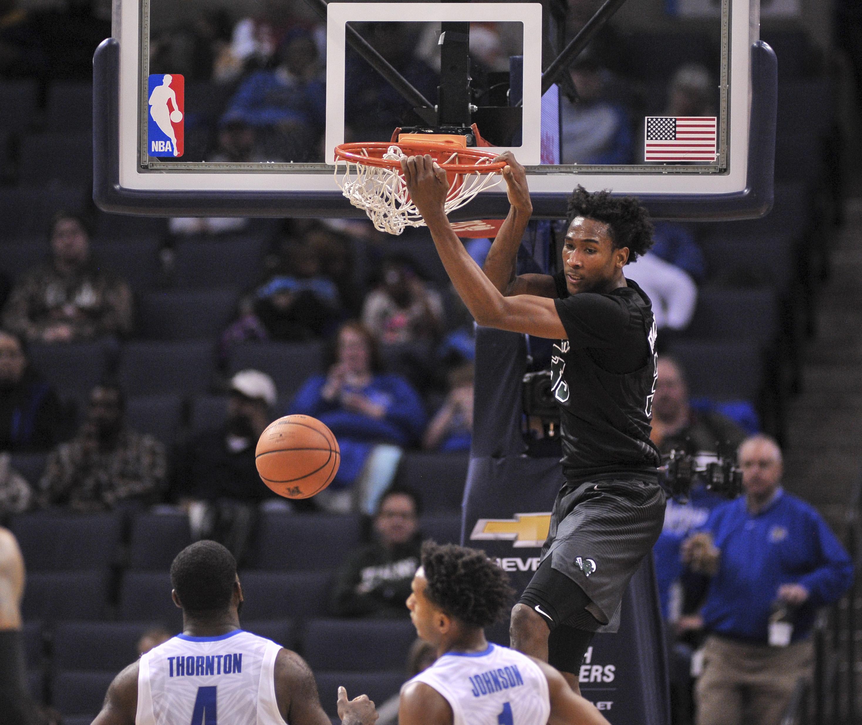 NCAA Basketball: Tulane at Memphis