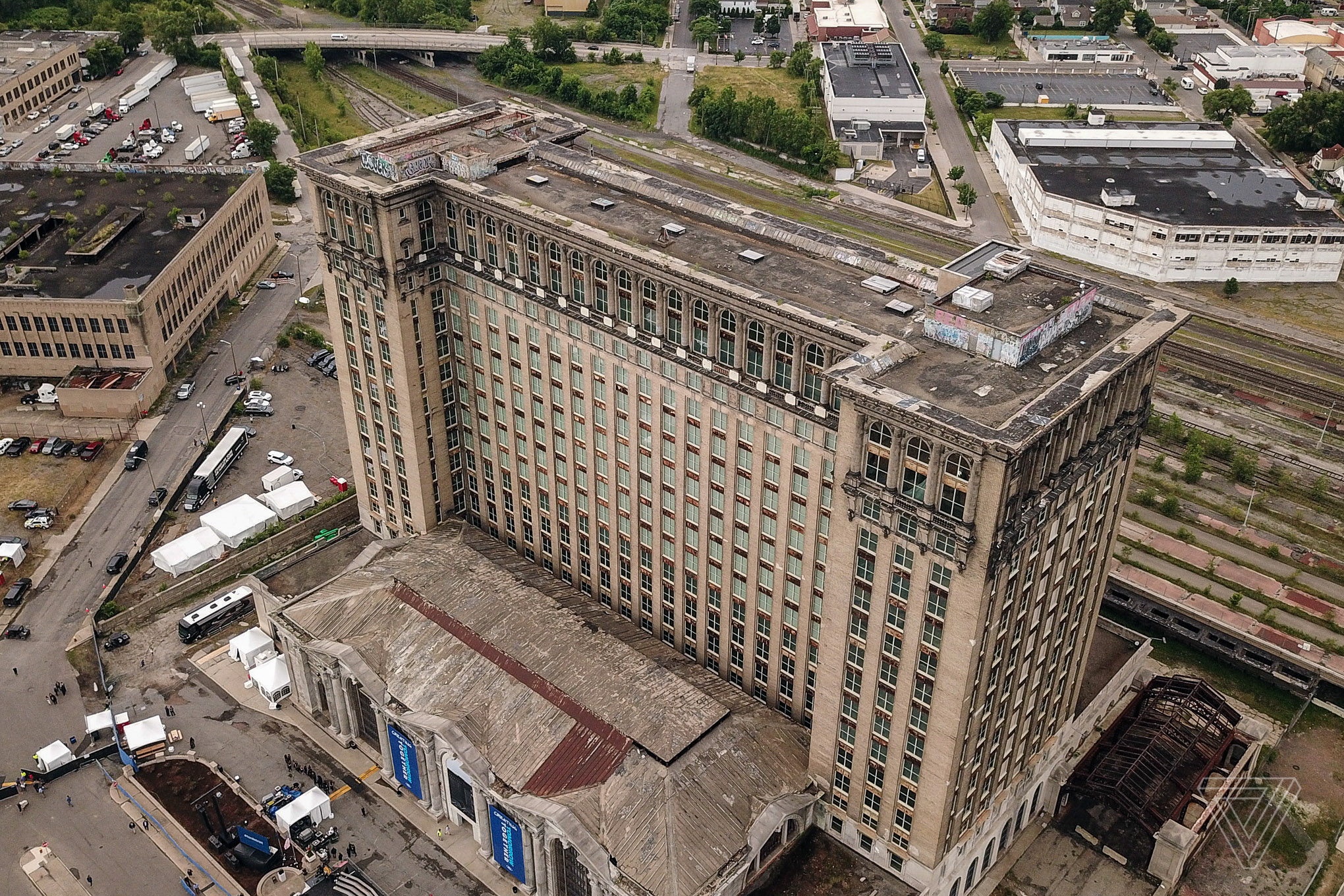 Inside Detroit's crumbling train station that Ford plans to