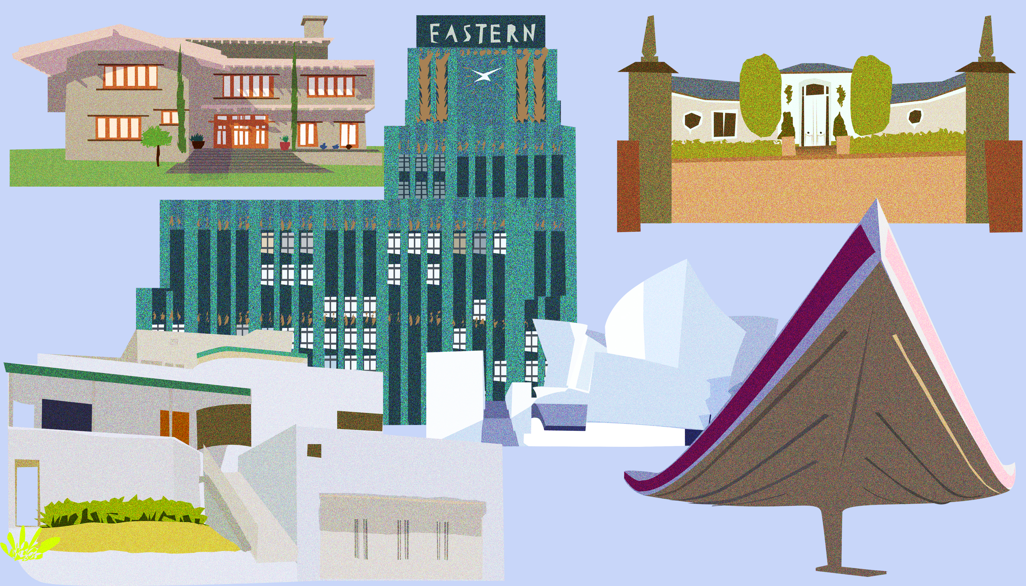 An illustrated guide to Los Angeles architecture