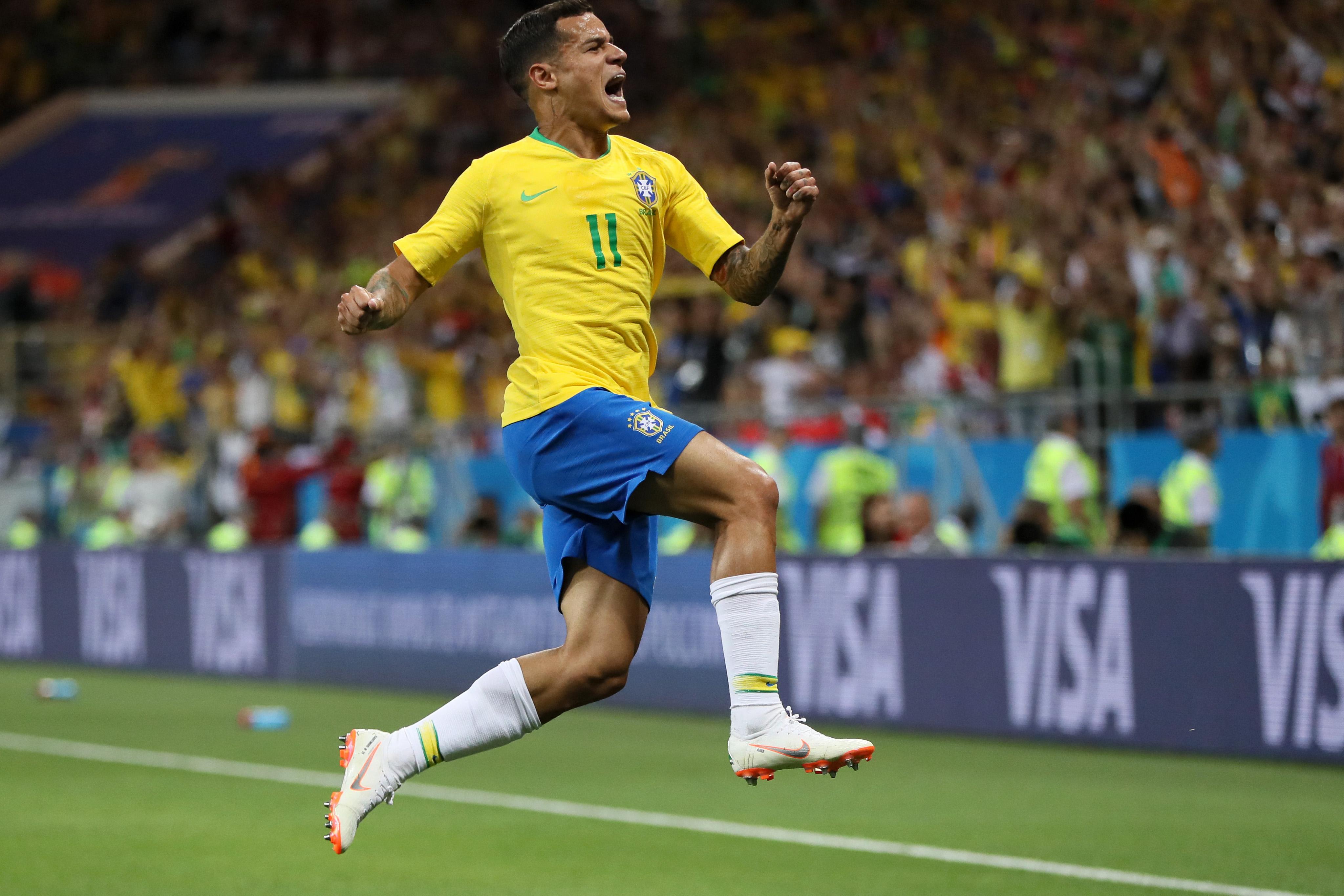Philippe Coutinho - Brazil - Group E - 2018 FIFA World Cup Russia