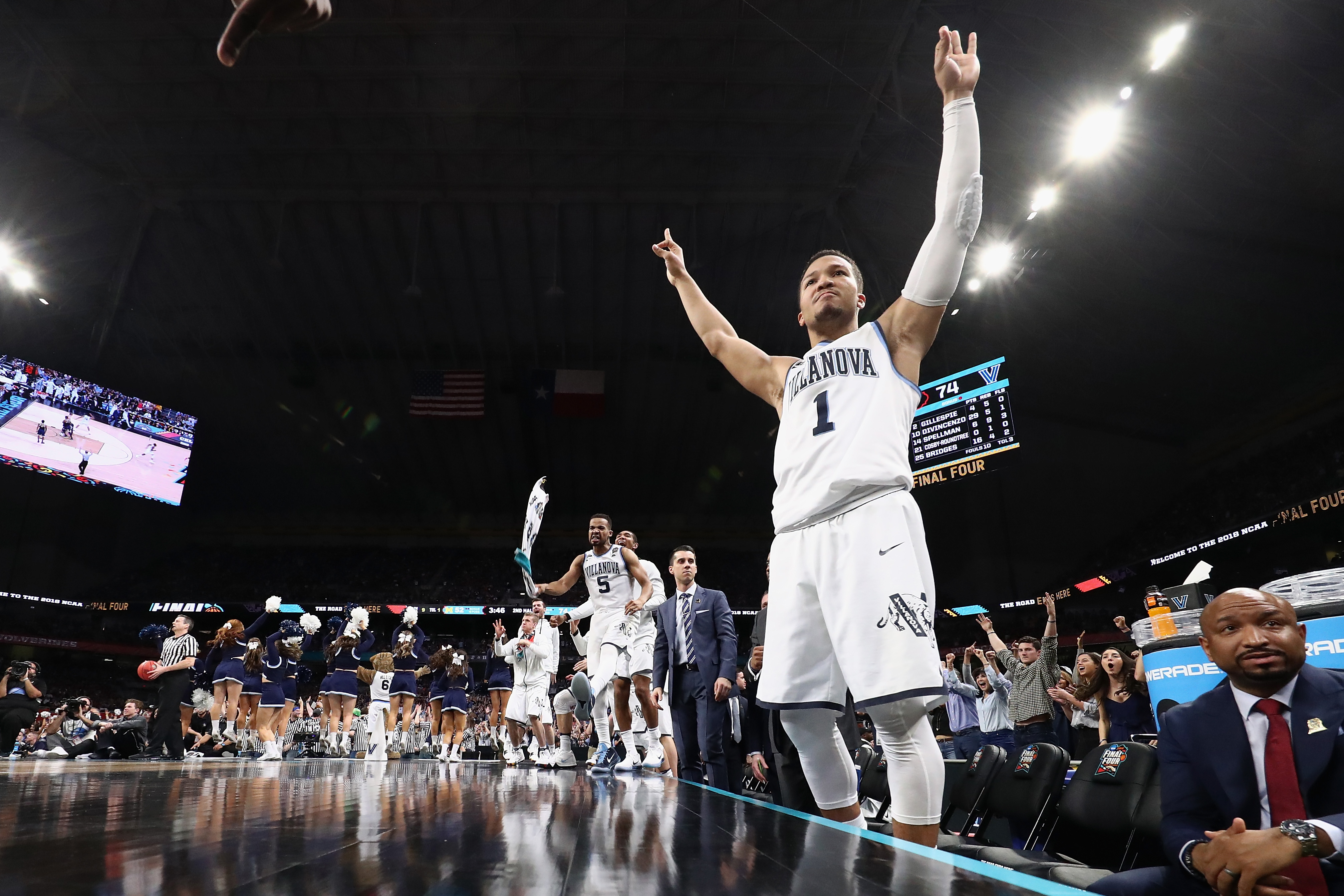Jalen Brunson was an NCAA star who can make an immediate impact with the Mavericks