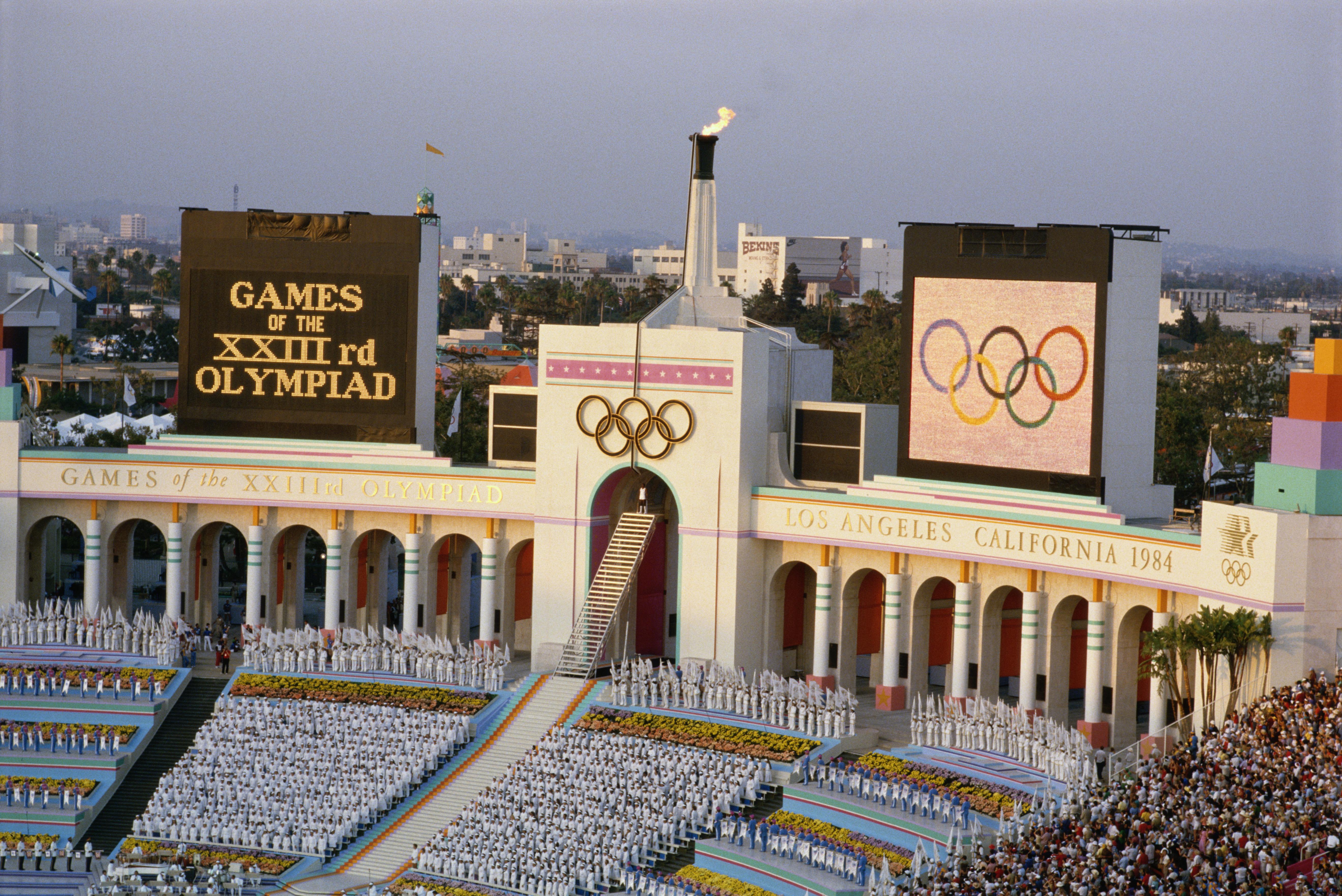 1984 opening ceremonies