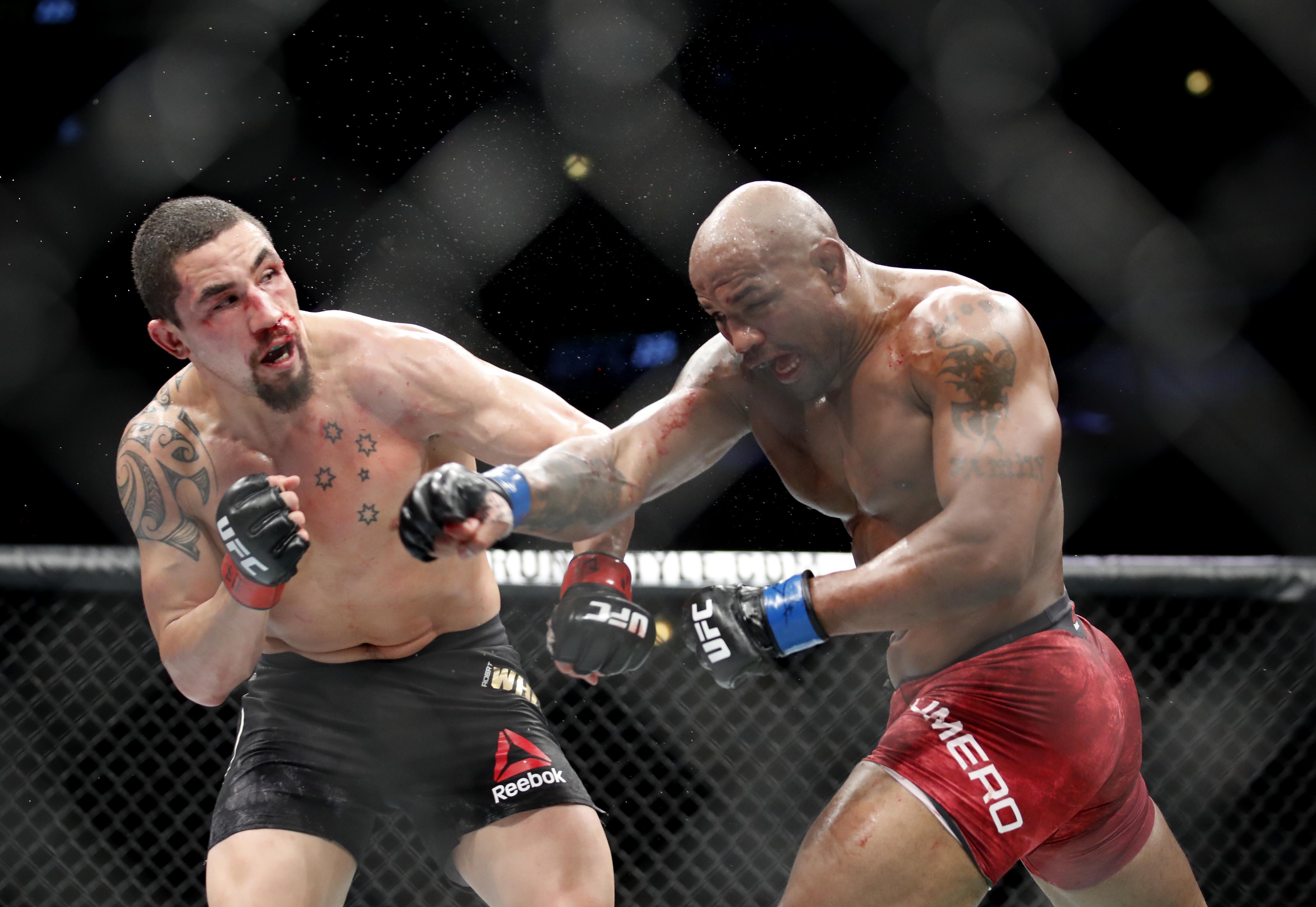MMA: UFC 225-Whittaker vs Romero