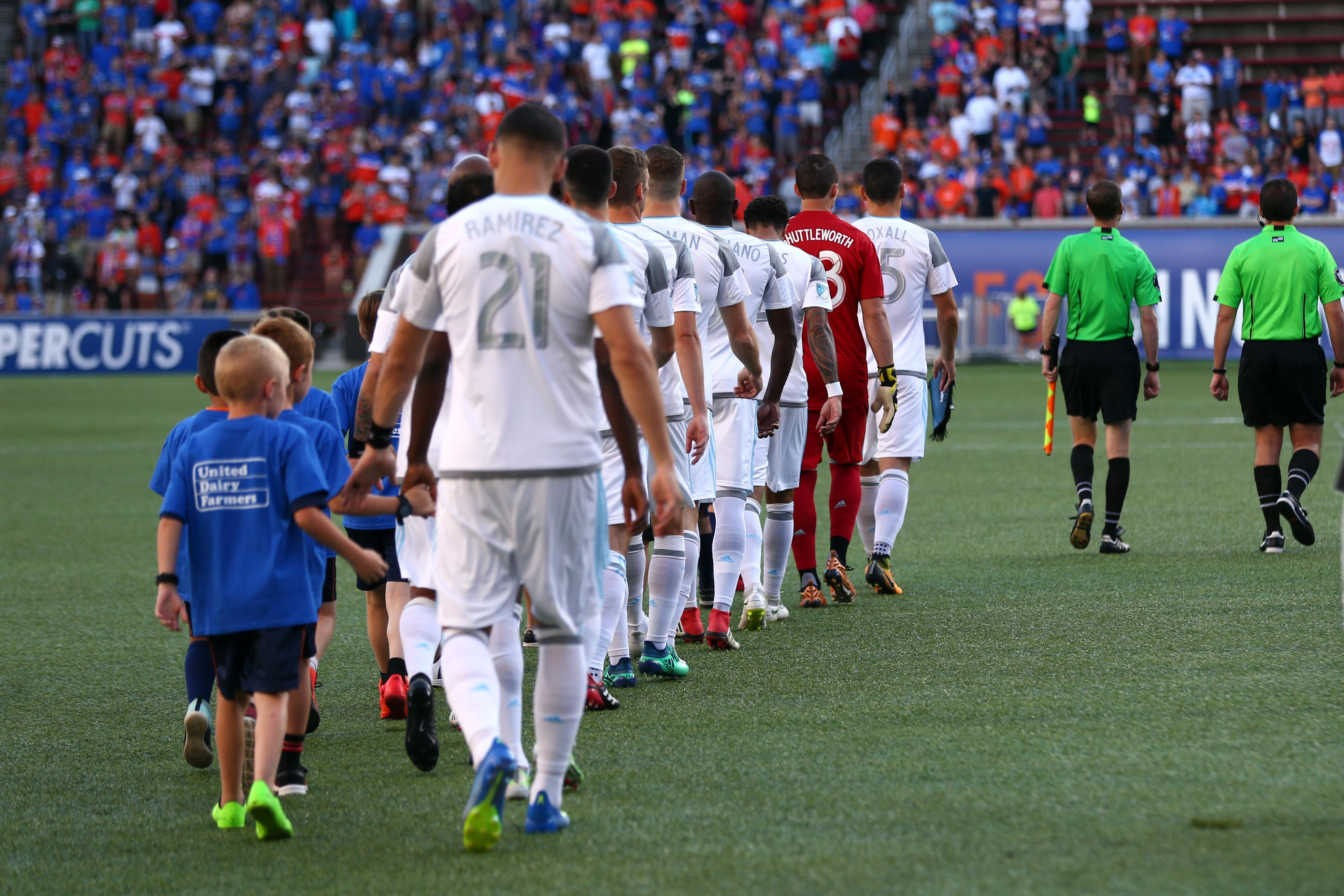 MLS: U.S. Open Cup-FC Cincinnati vs Minnesota United
