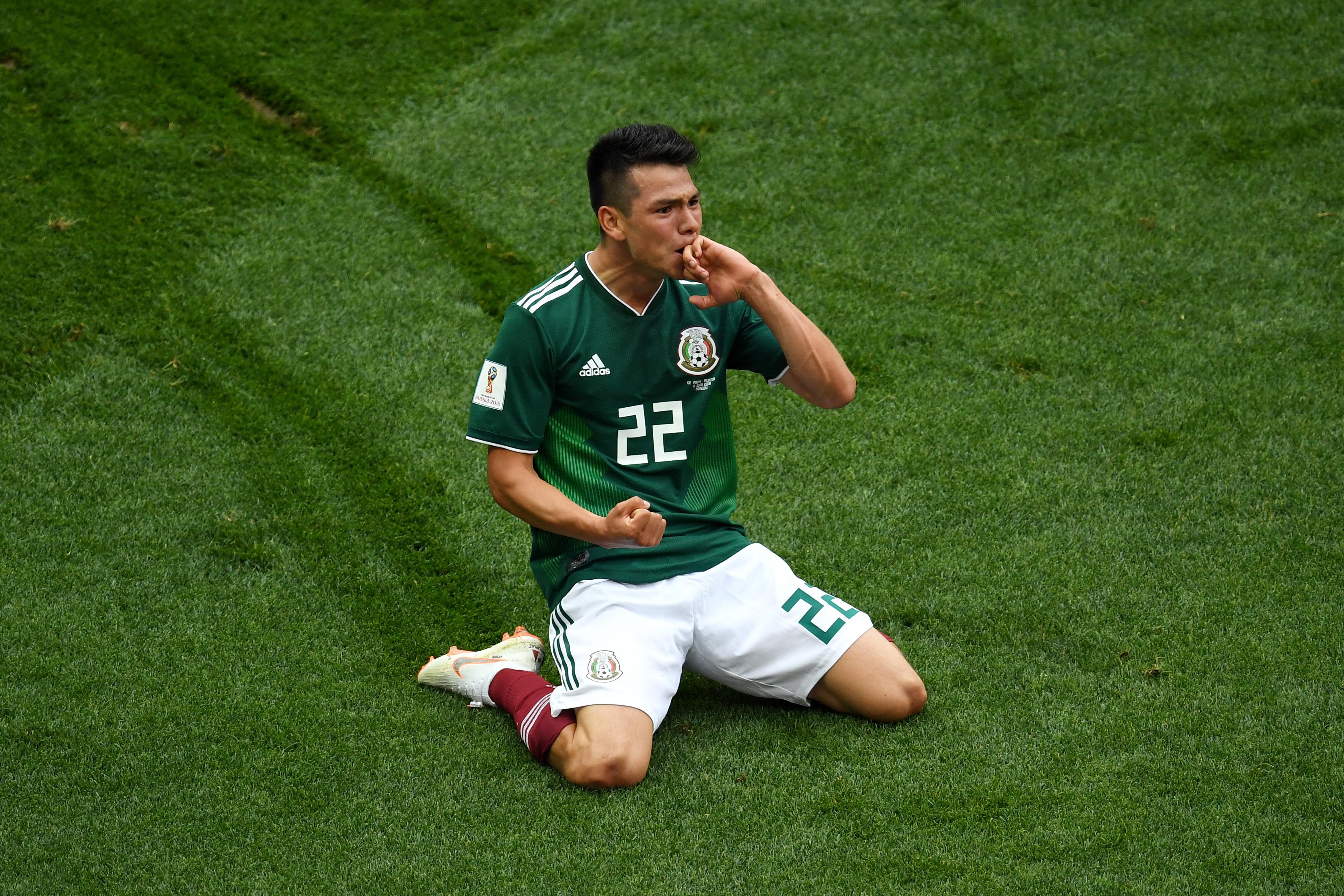 Hirving Lozano - Mexico - Group F - 2018 FIFA World Cup Russia