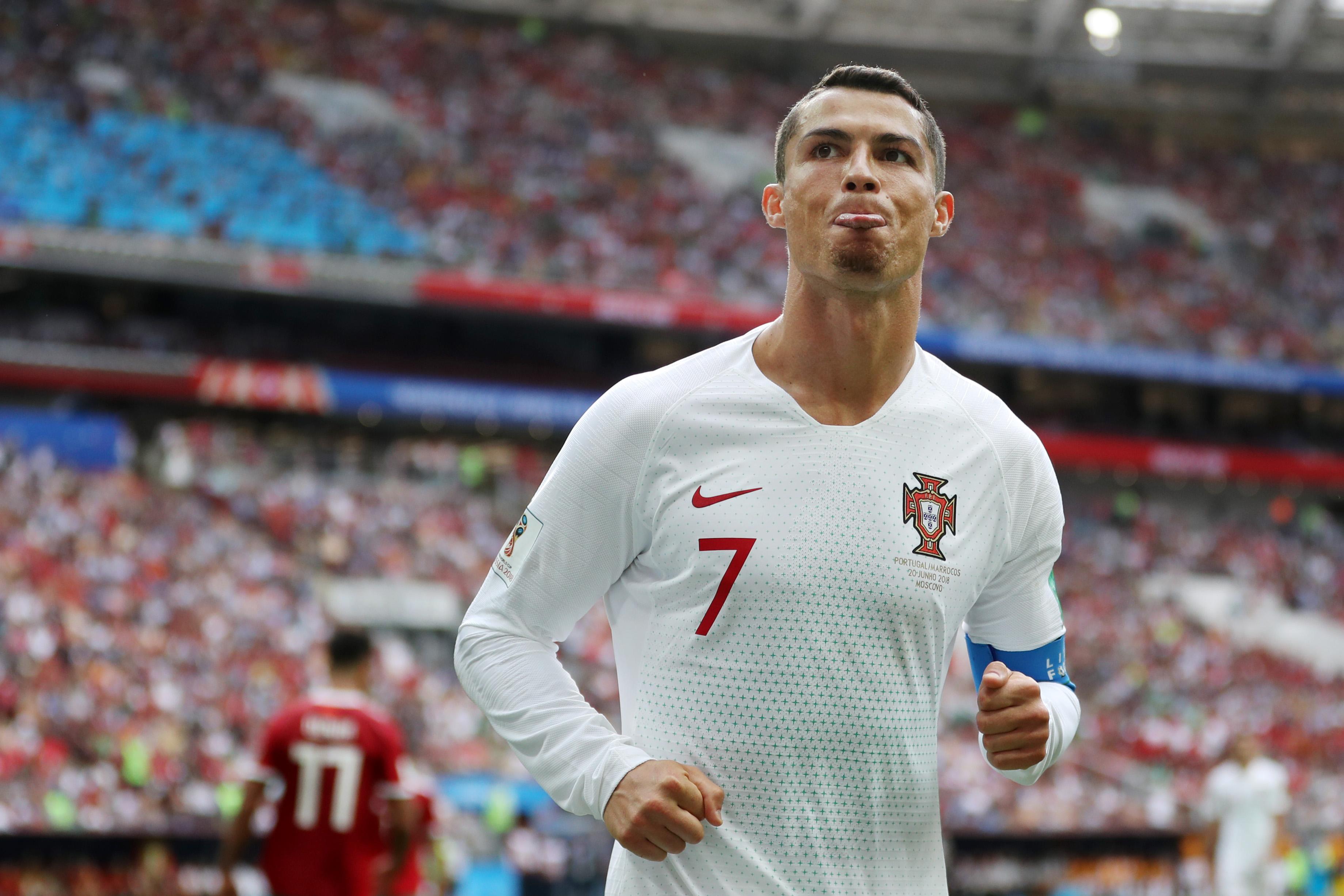 Cristiano Ronaldo - Portugal - Group B - 2018 FIFA World Cup Russia