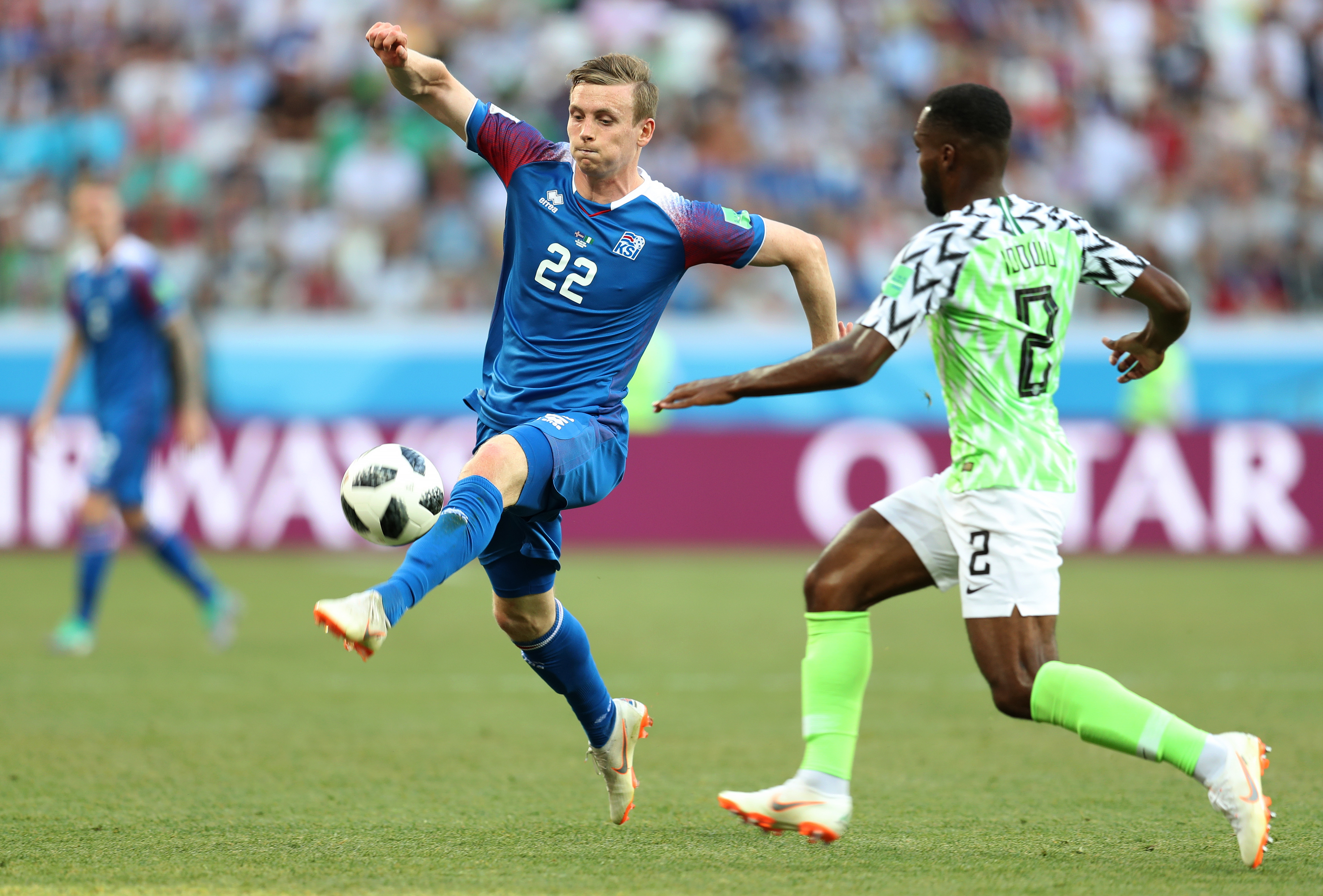 Nigeria v Iceland: Group D - 2018 FIFA World Cup Russia