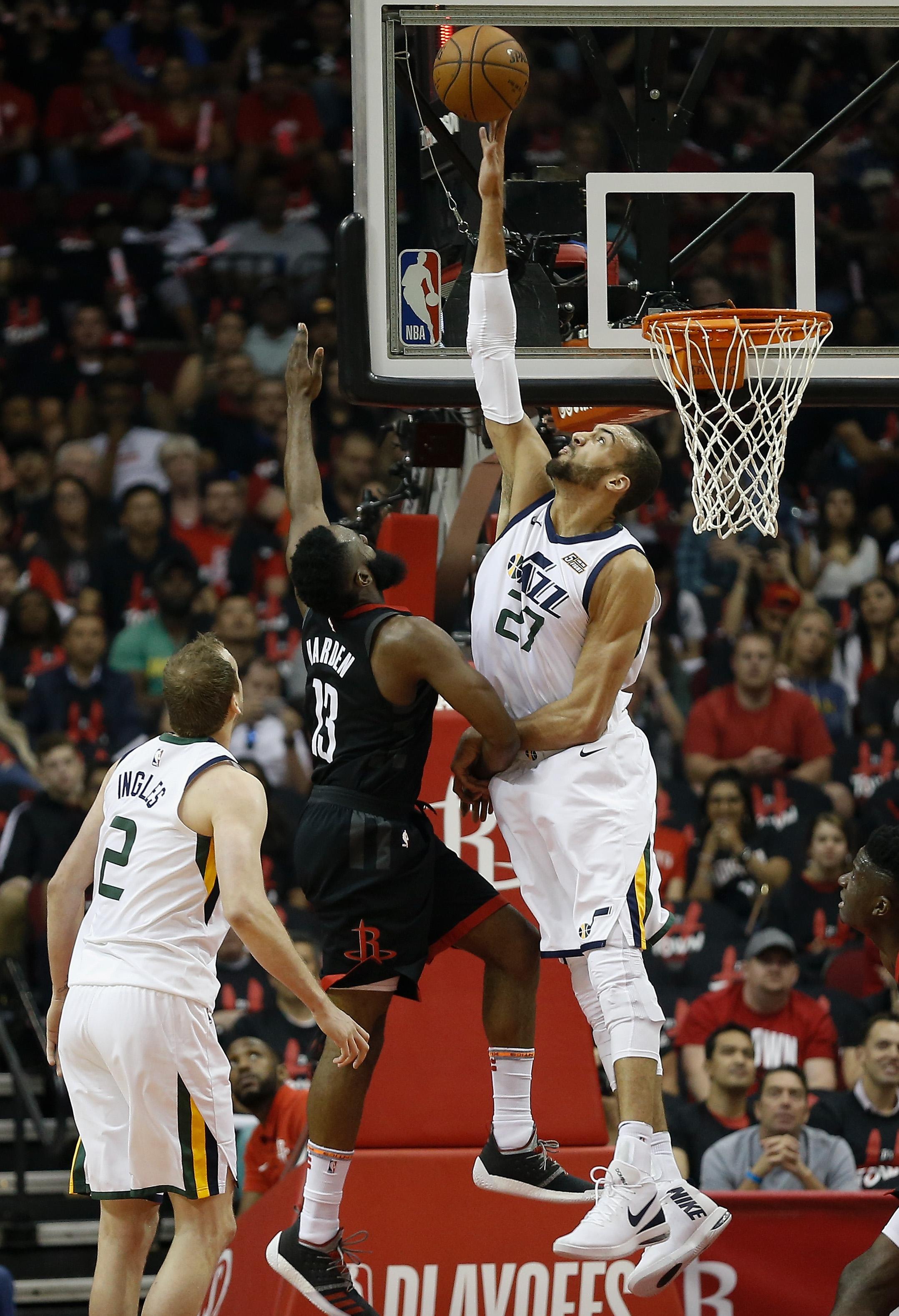 Utah Jazz v Houston Rockets - Game Five