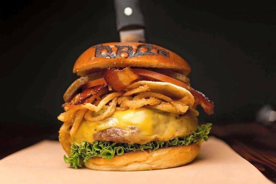 Steakhouse burger at BBD's