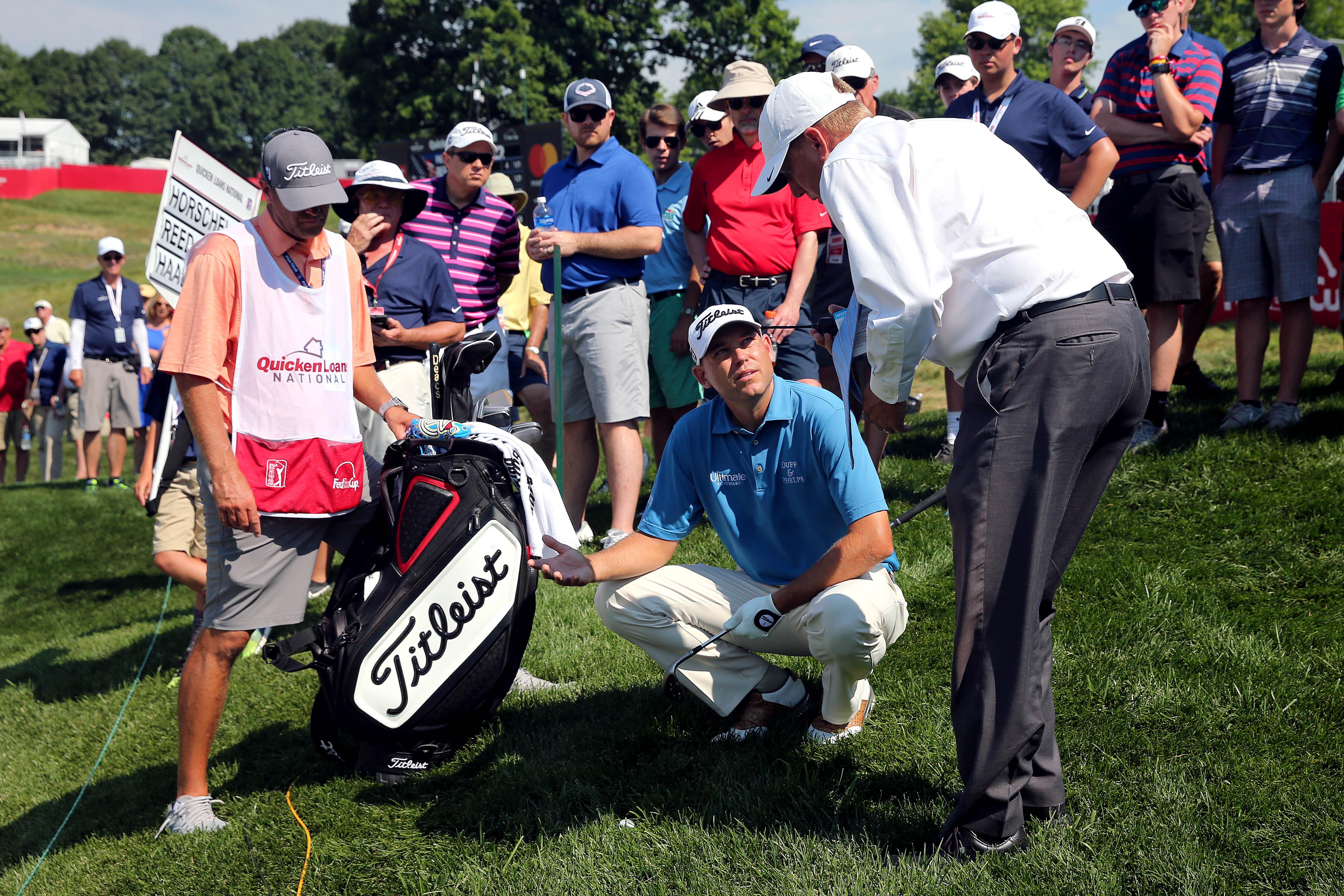 PGA: Quicken Loans National - Second Round