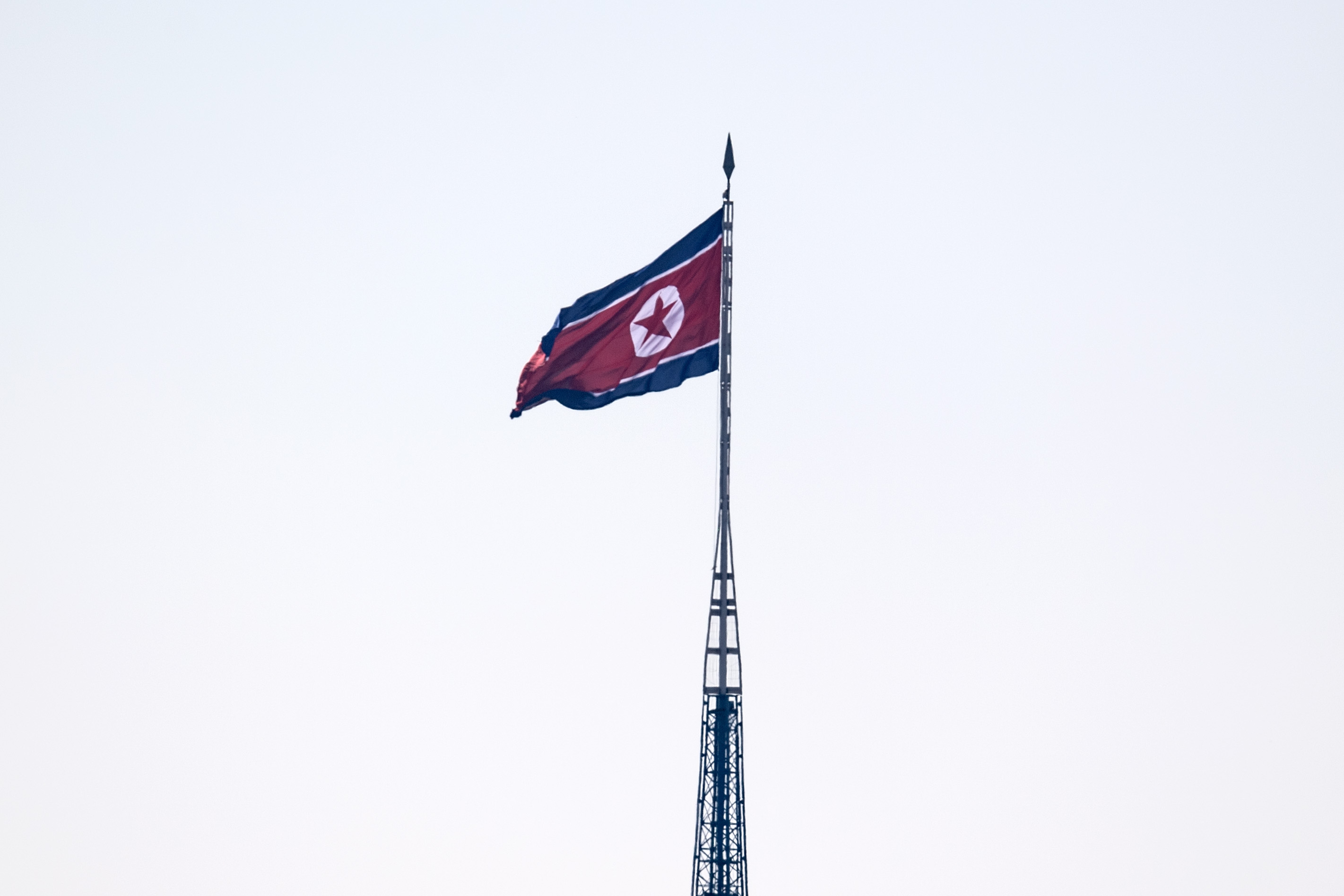 Awkward: the upheld travel ban still applies to North Korea, too