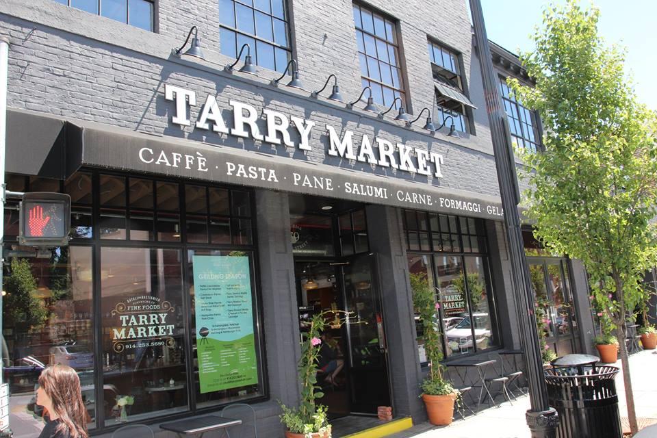 exterior shot of tarry market