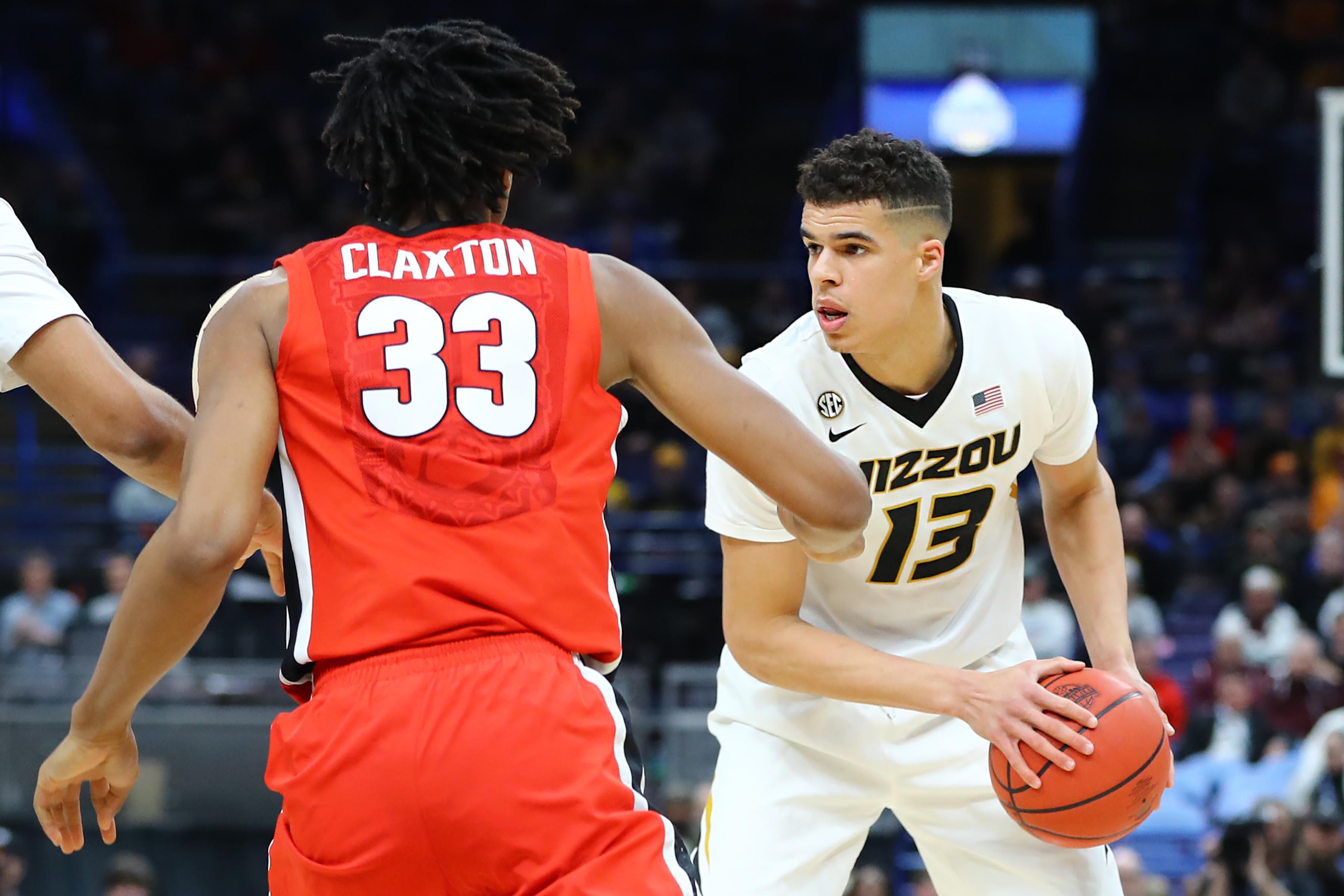NCAA Basketball: SEC Conference Tournament-Missouri vs Georgia