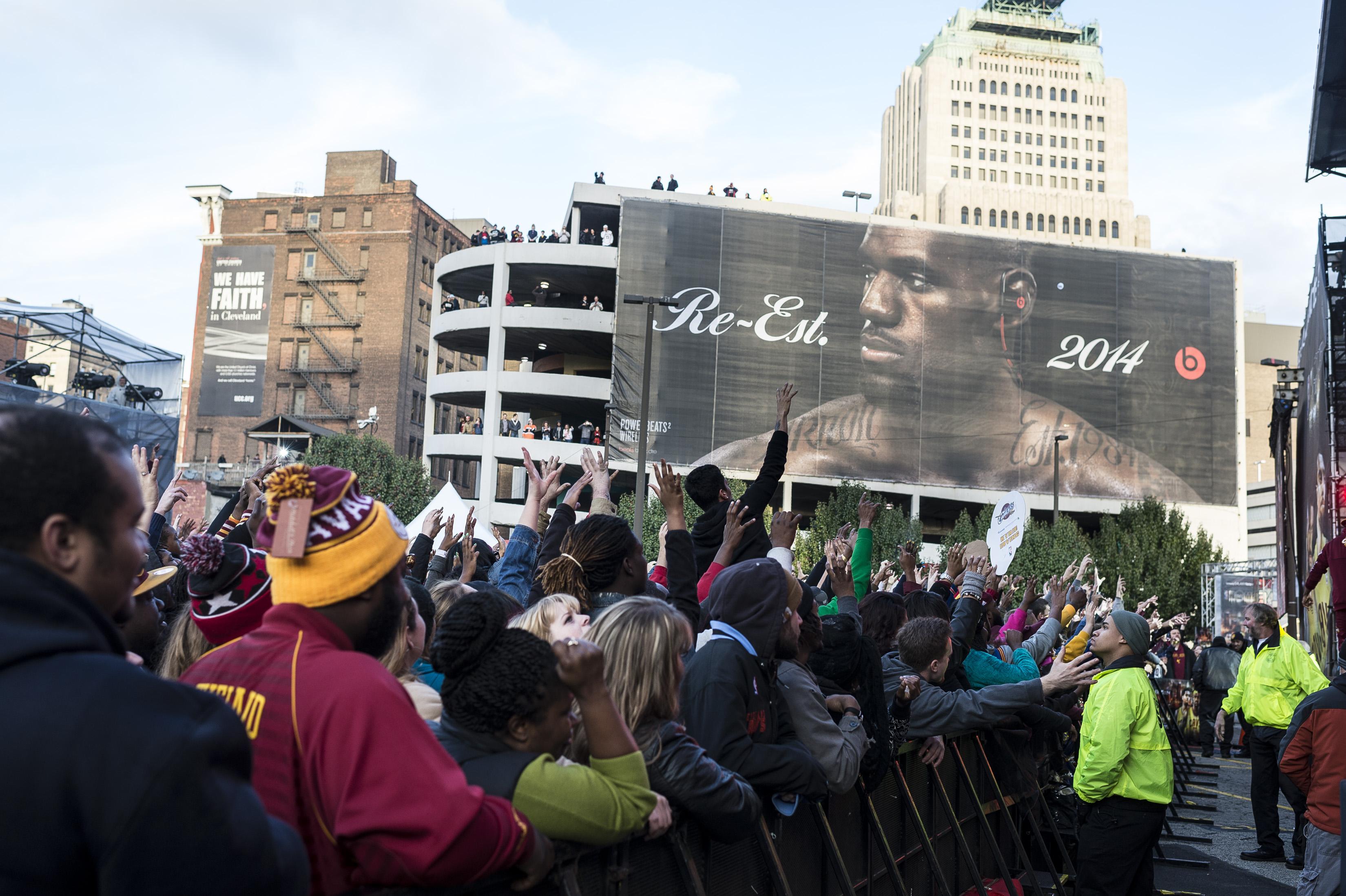 Cleveland Cavaliers & Turner Sports Home Opener Fan Fest