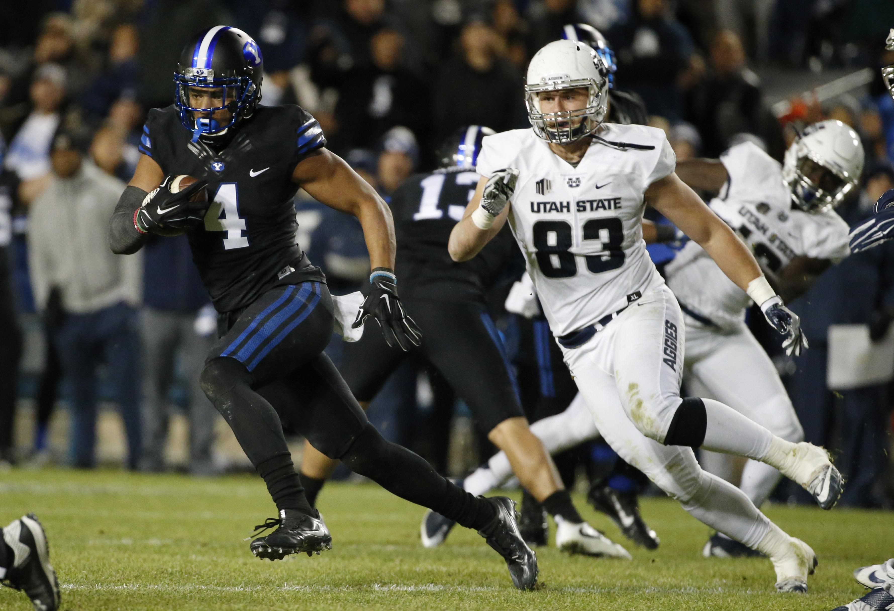 NCAA Football: Utah State at Brigham Young
