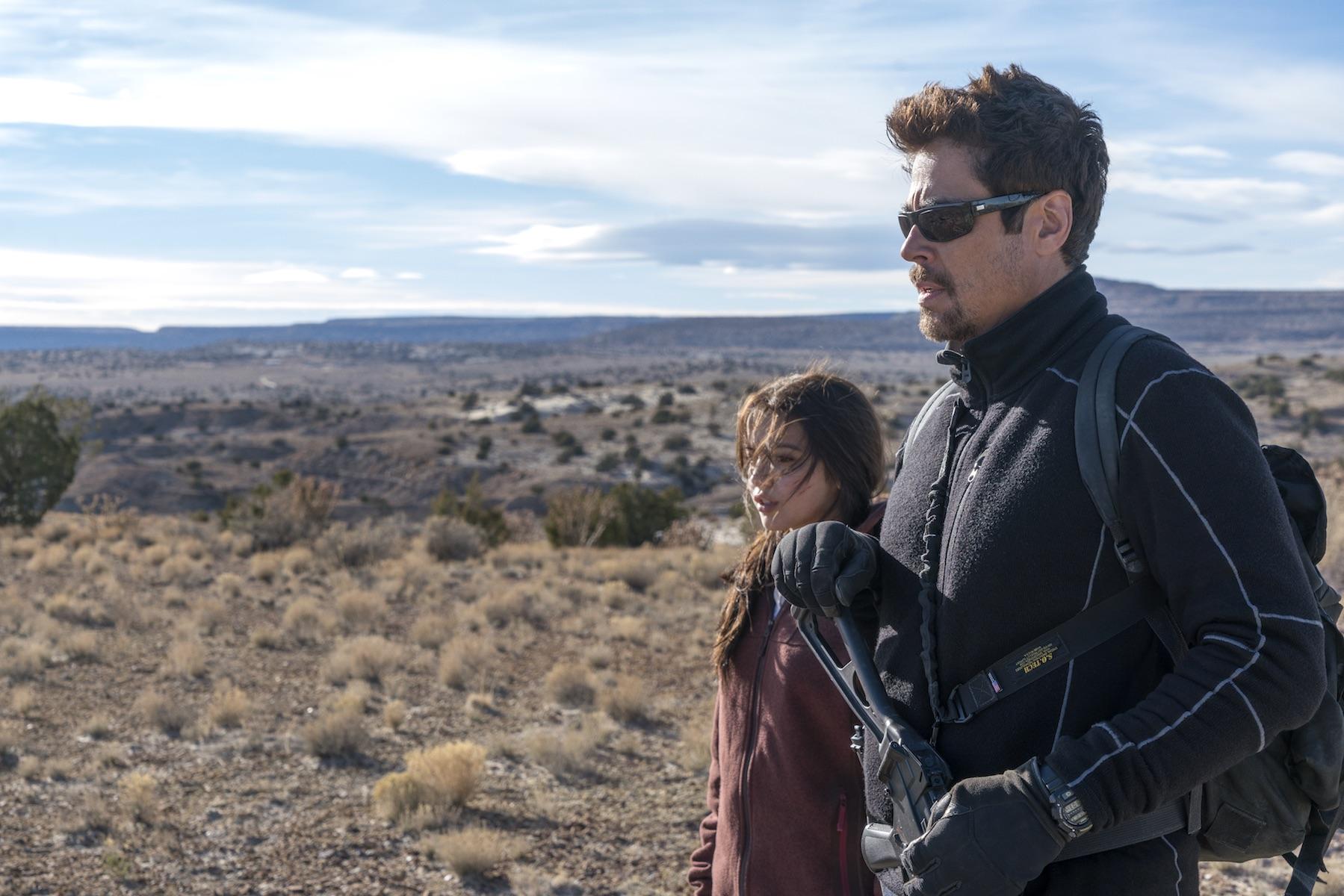 Benicio Del Toro and Isabela Moner return for Sicario: Day of the Soldado.